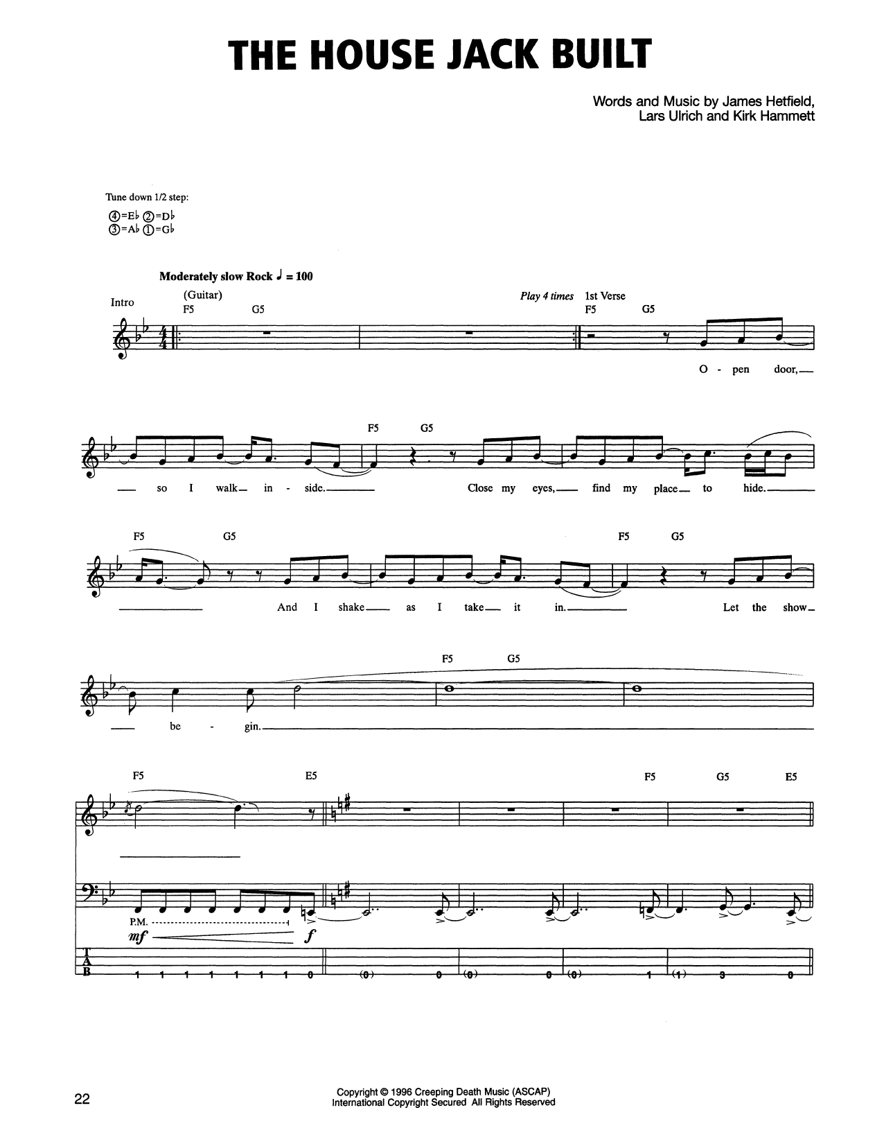The House Jack Built Sheet Music