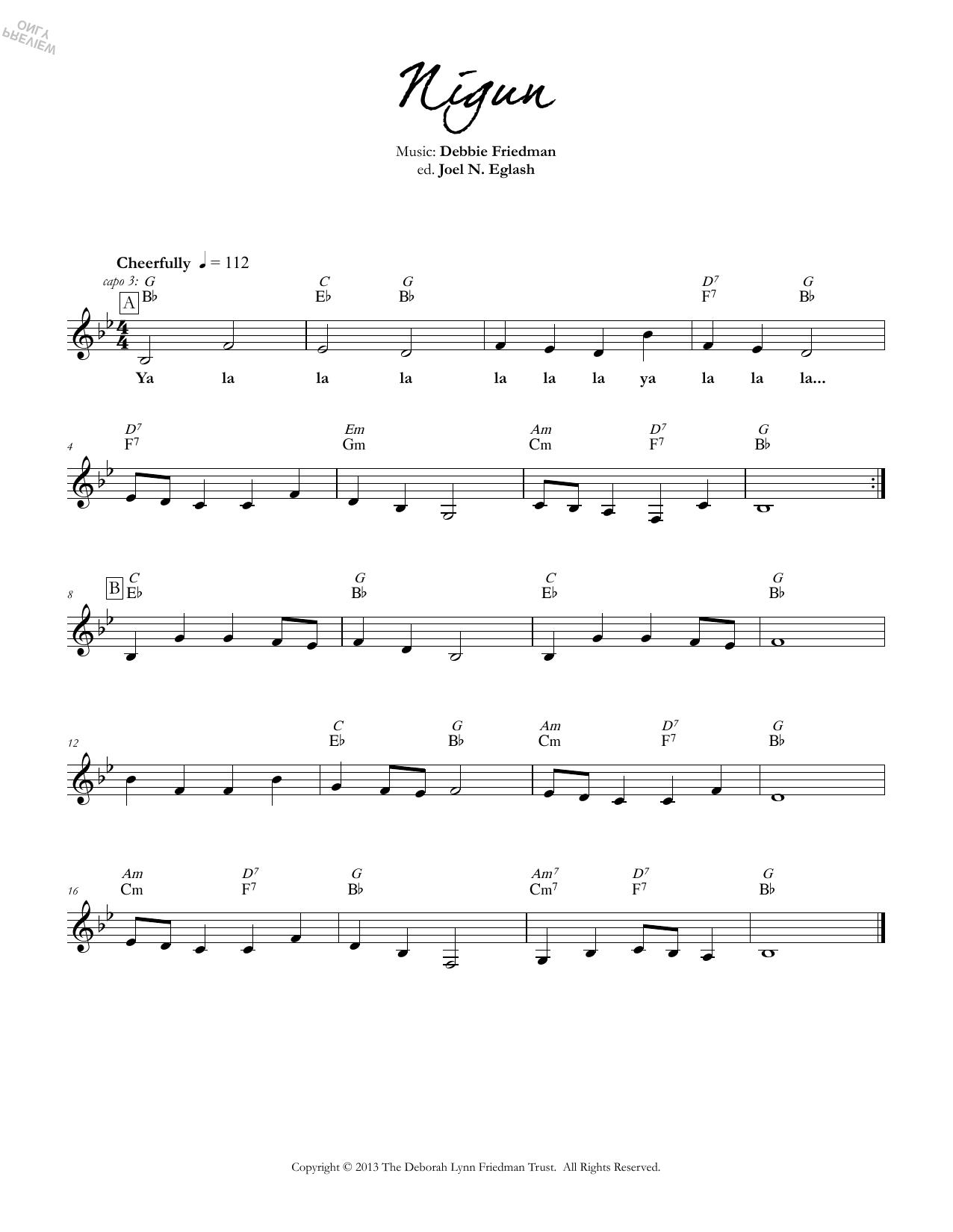 Nigun Sheet Music