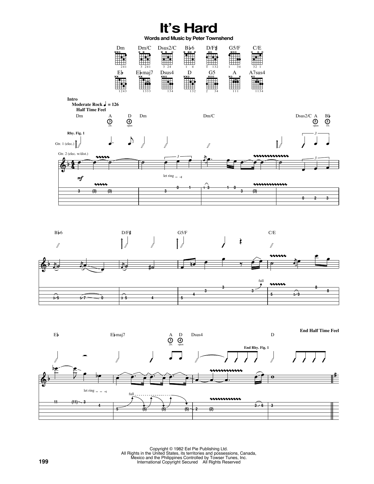 It's Hard Sheet Music