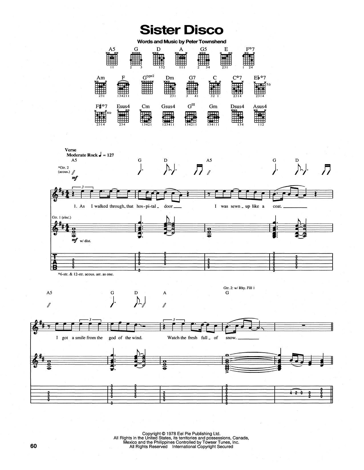 Sister Disco Sheet Music