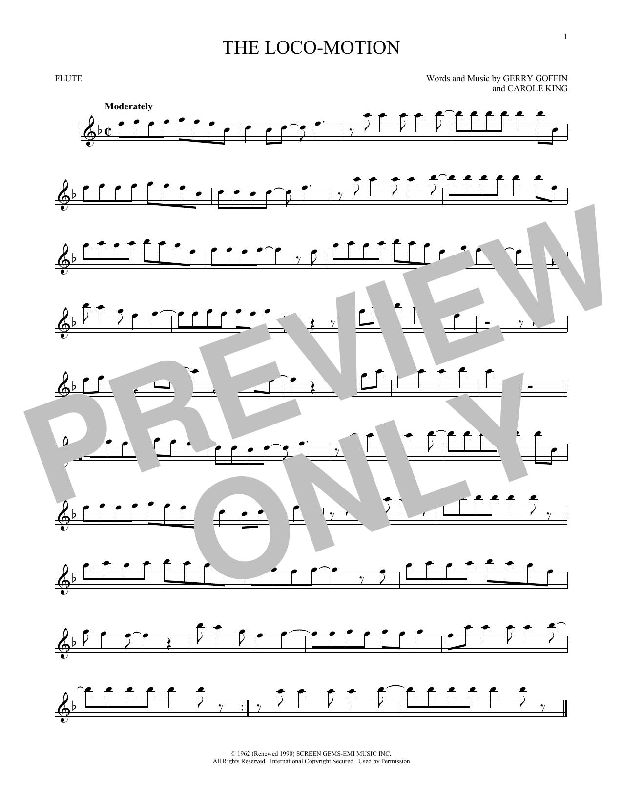 The Loco-Motion (Flute Solo)
