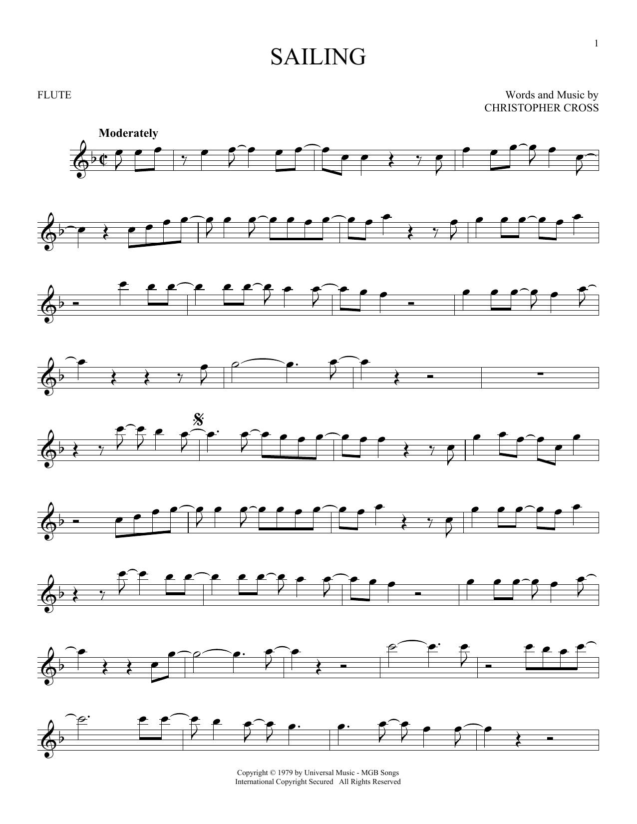 Sailing (Flute Solo)