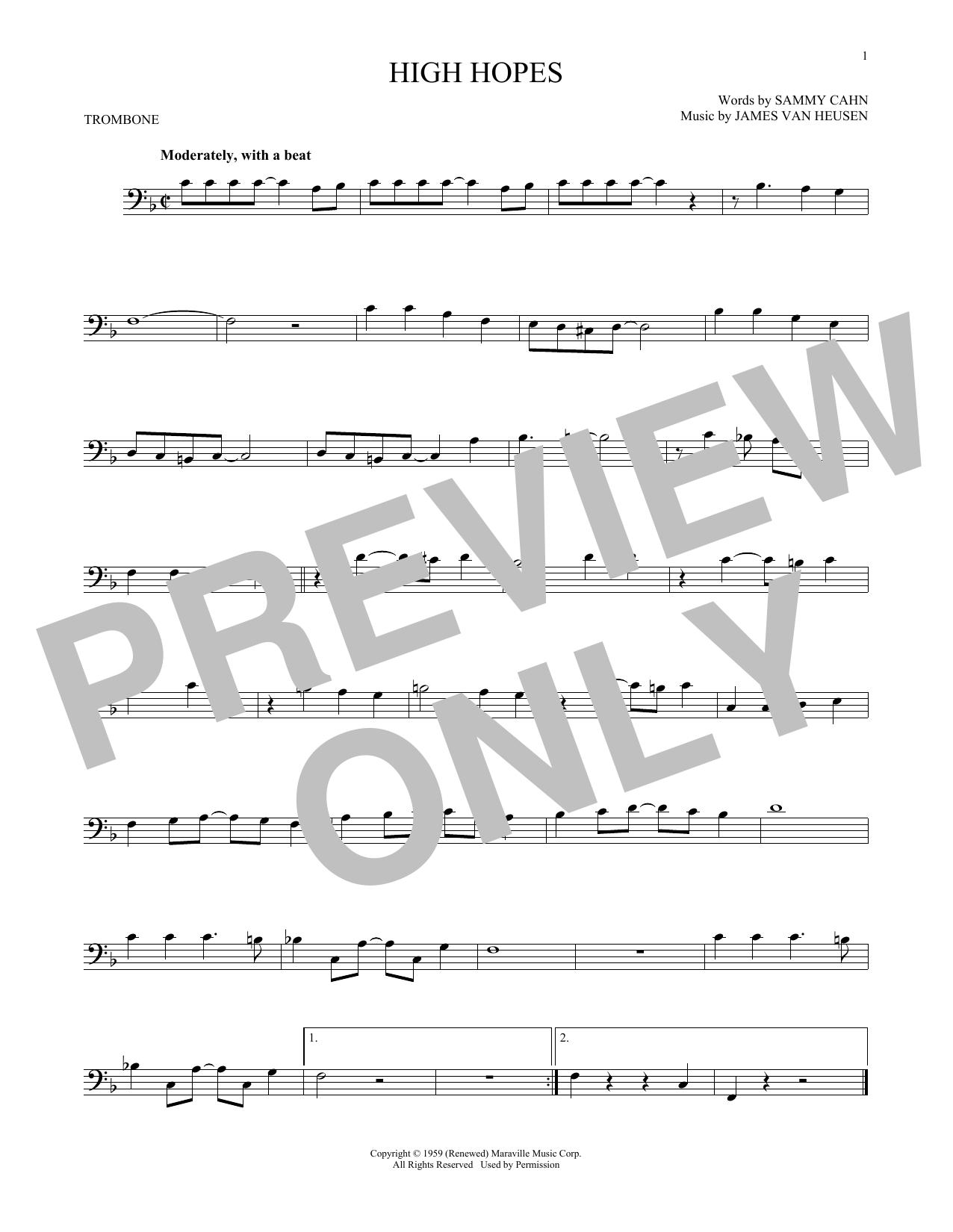 High Hopes (Trombone Solo)