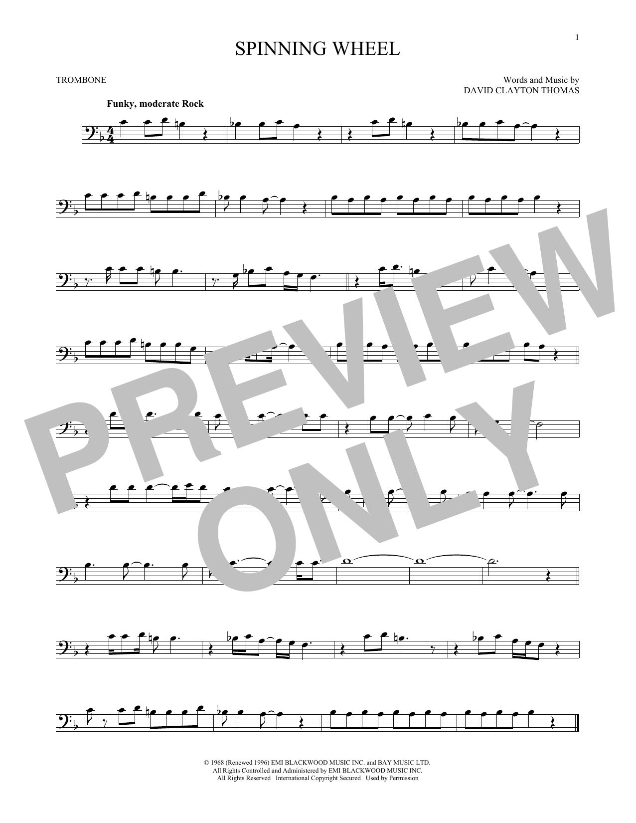 Spinning Wheel Sheet Music