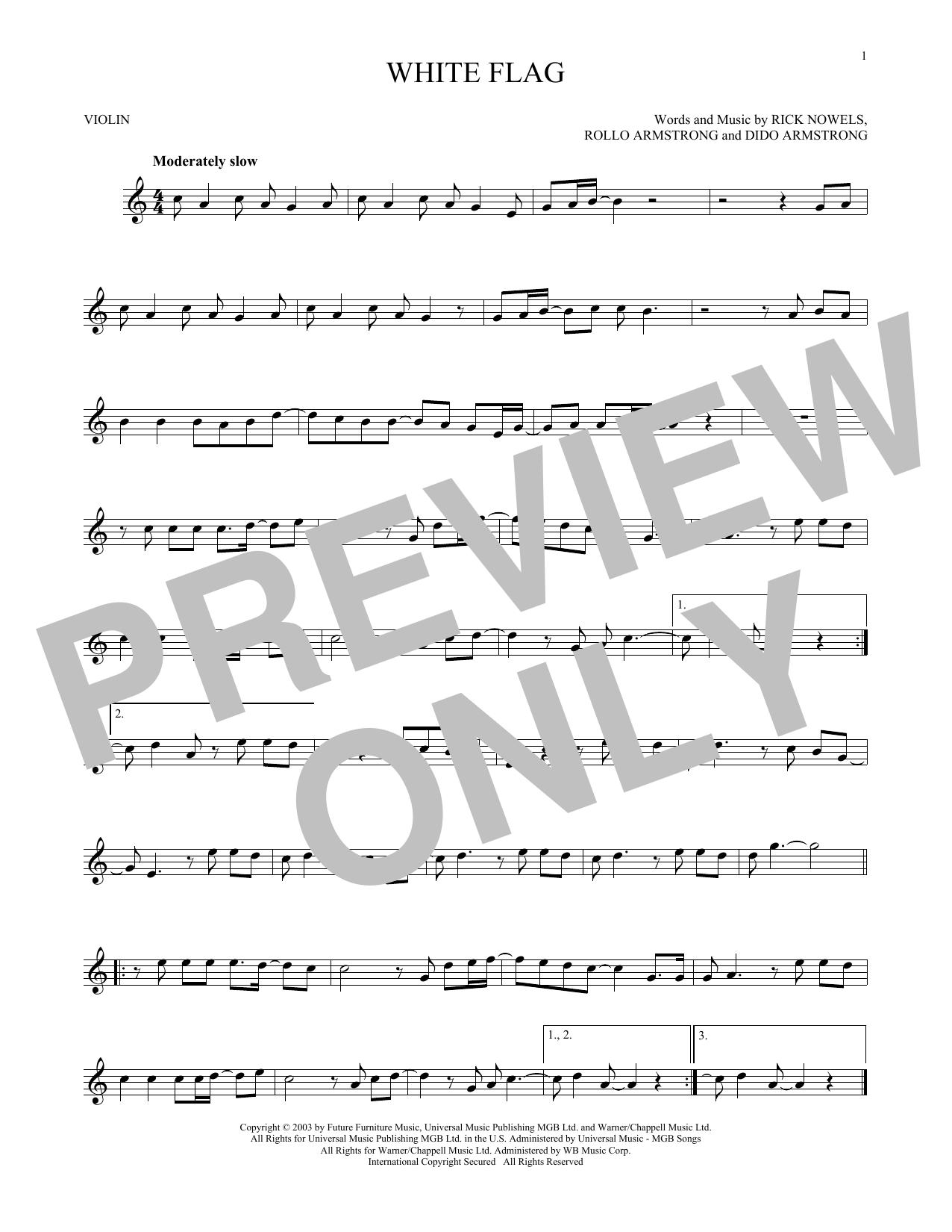 White Flag (Violin Solo)