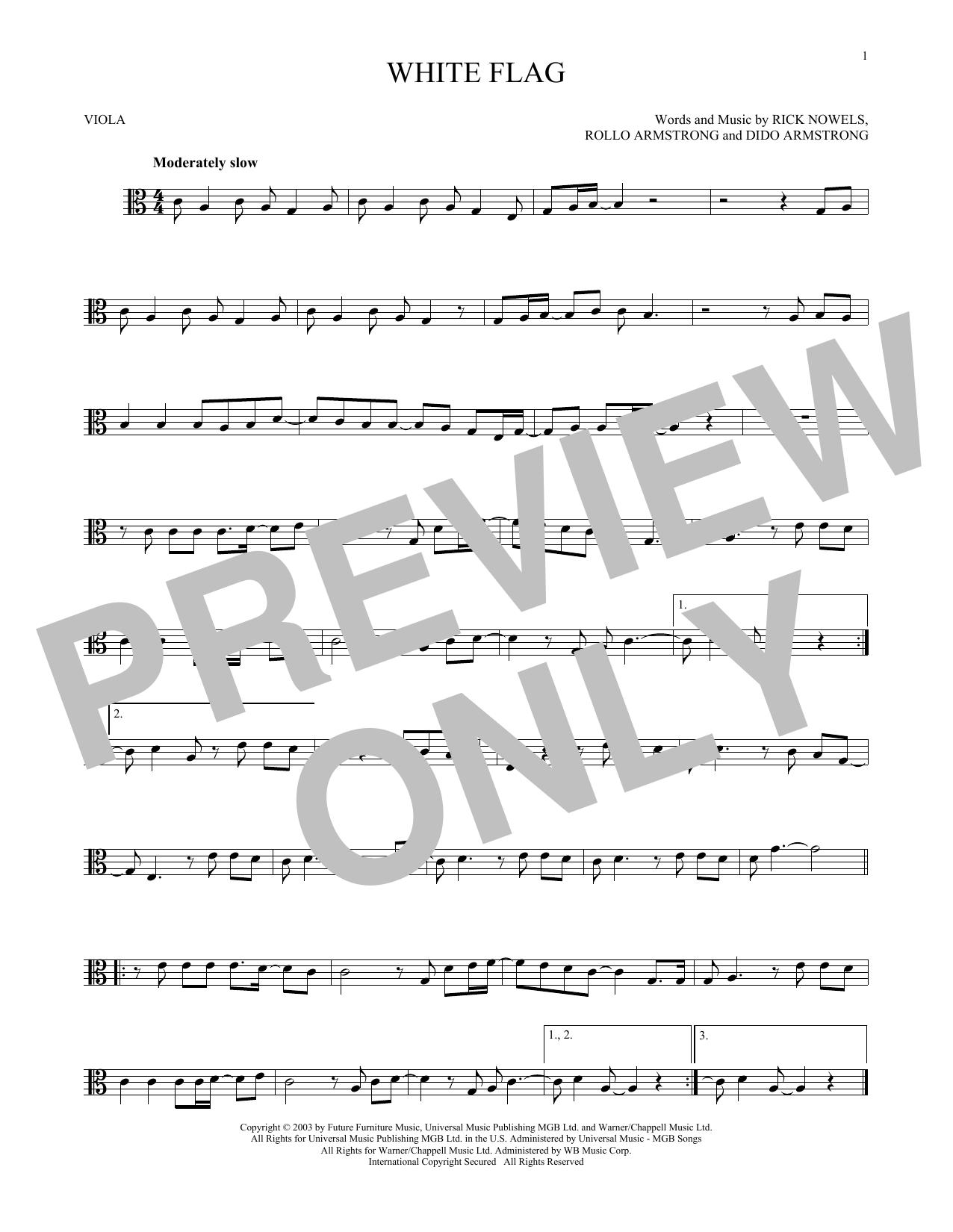 White Flag (Viola Solo)