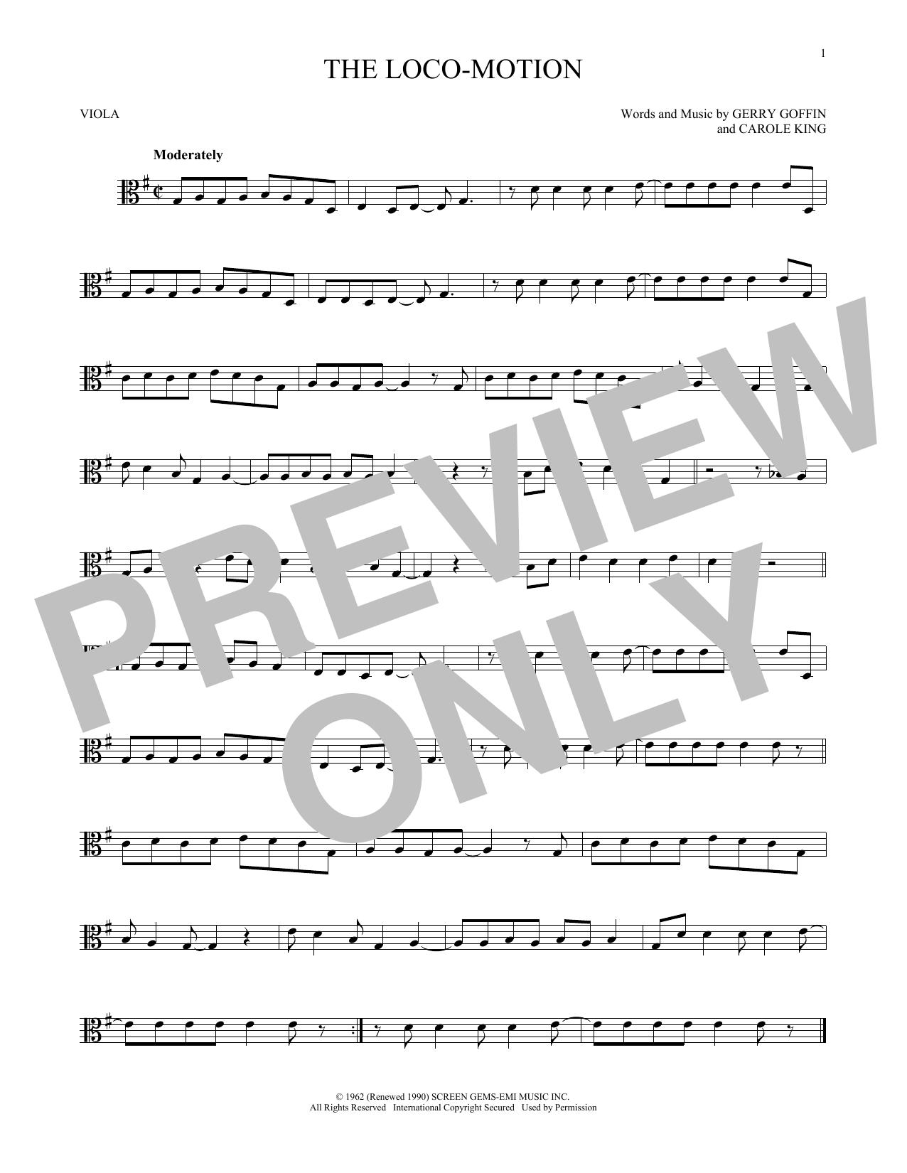 The Loco-Motion (Viola Solo)