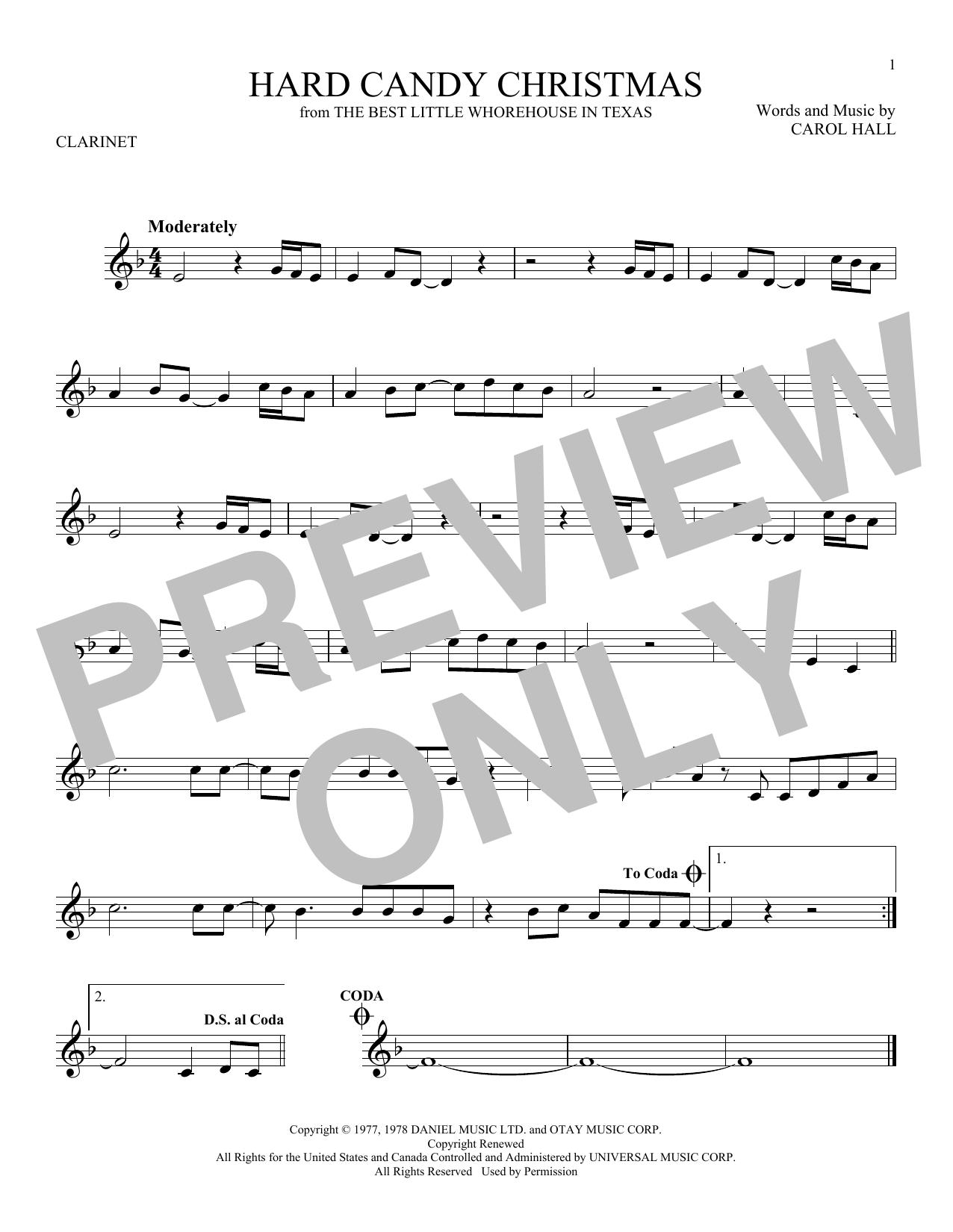 Hard Candy Christmas Sheet Music