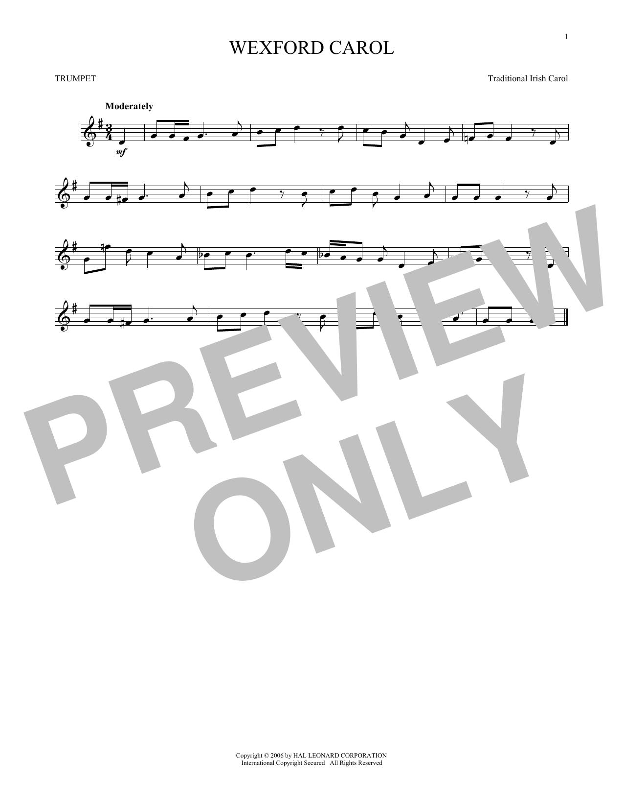 Wexford Carol (Trumpet Solo)
