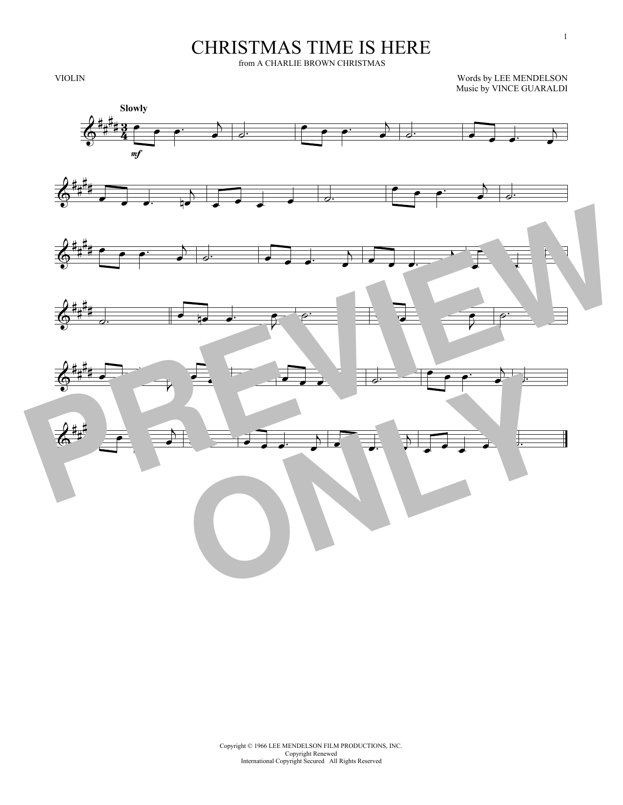 page one of christmas time is hereasalttext - Christmas Time Is Here Song