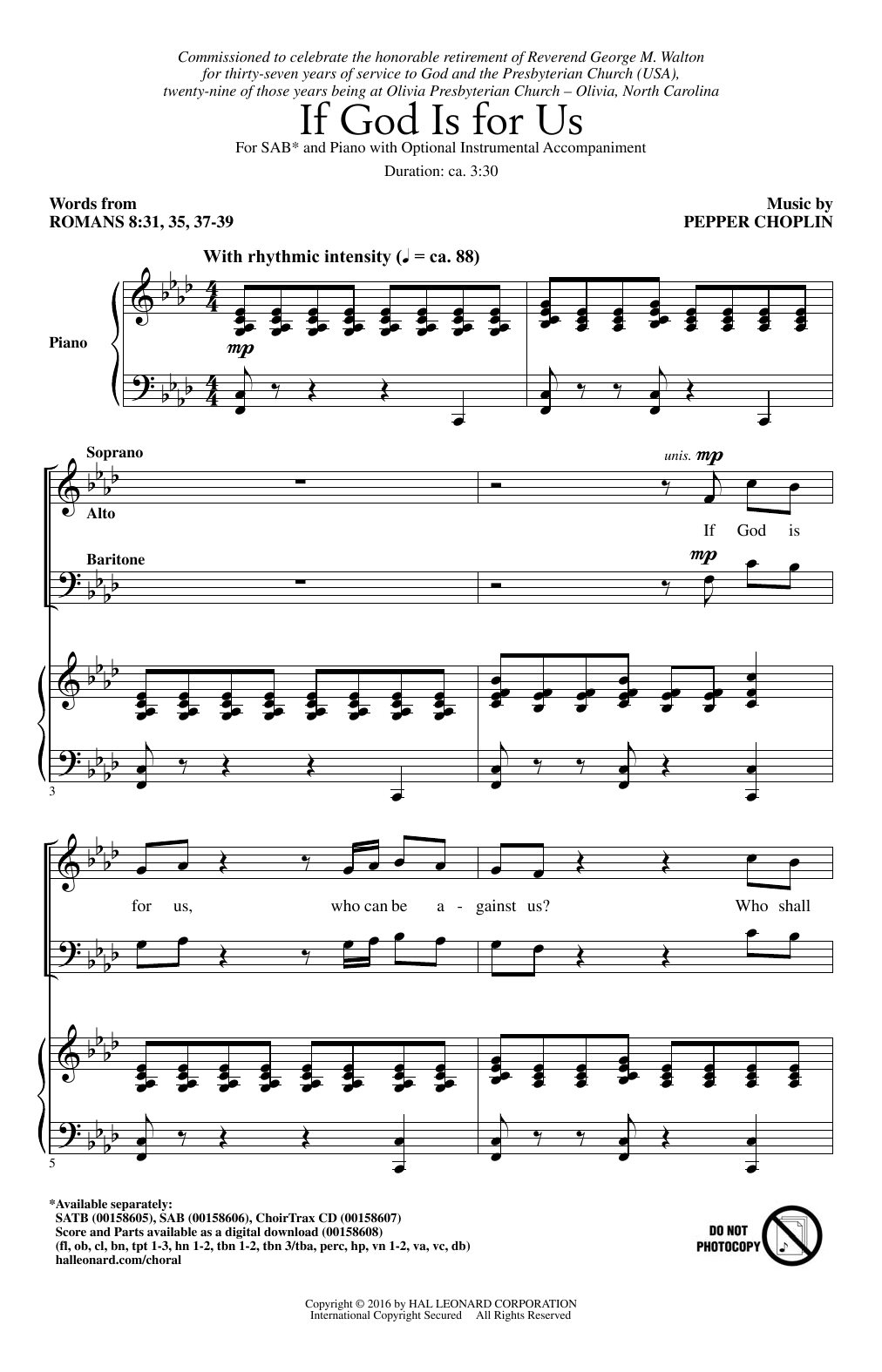 If God Is For Us Sheet Music