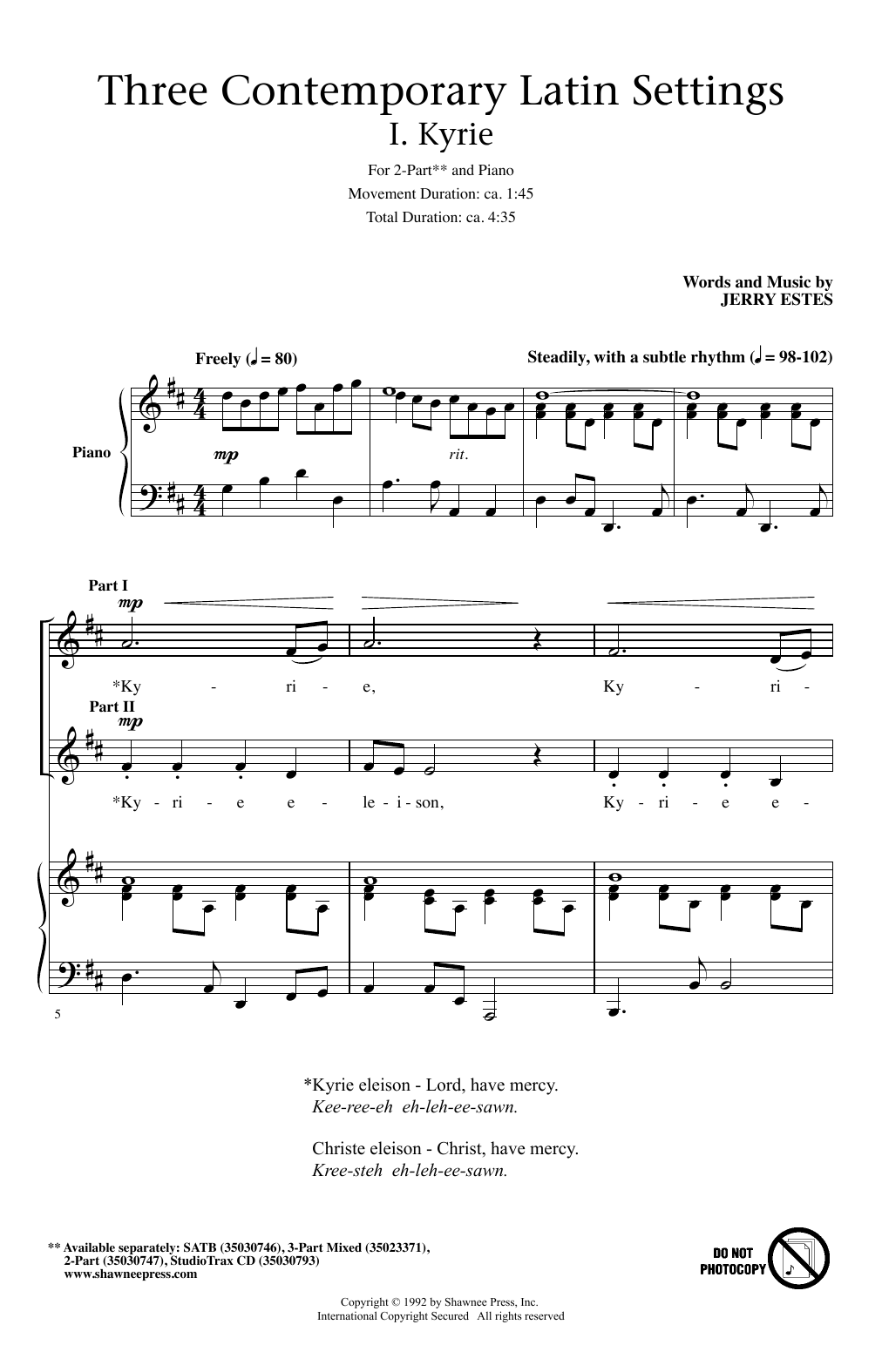 Sheet Music Digital Files To Print - Licensed Choral Digital Sheet Music