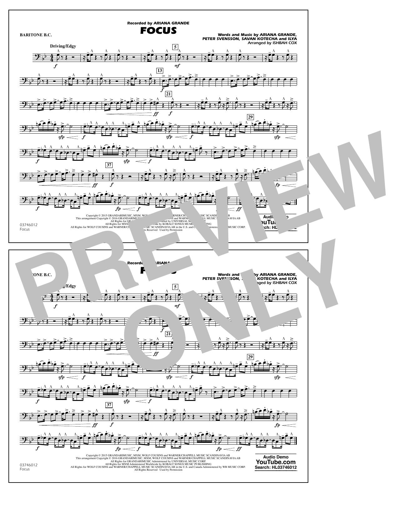 Focus - Baritone B.C. (Marching Band)