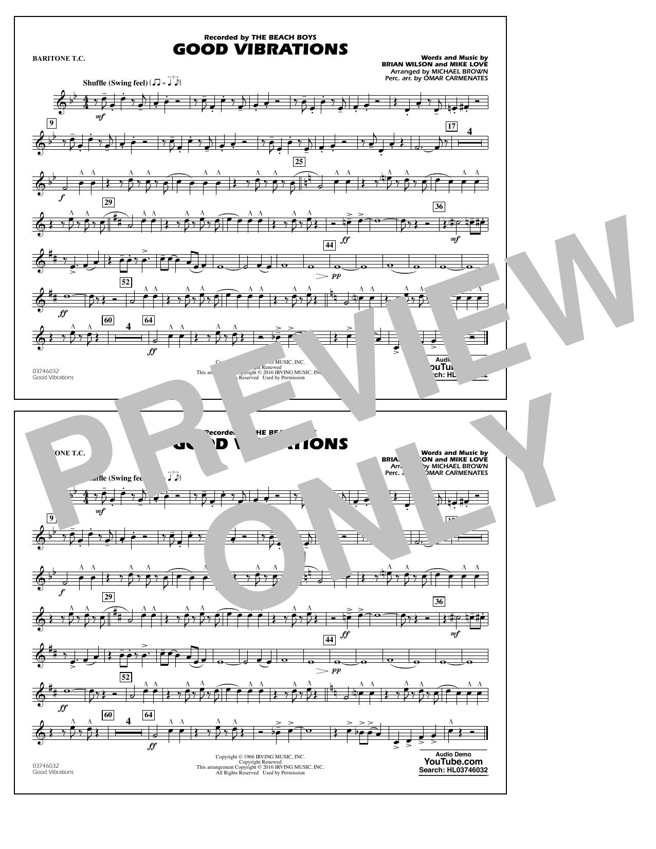 Good Vibrations - Baritone T.C. (Marching Band)