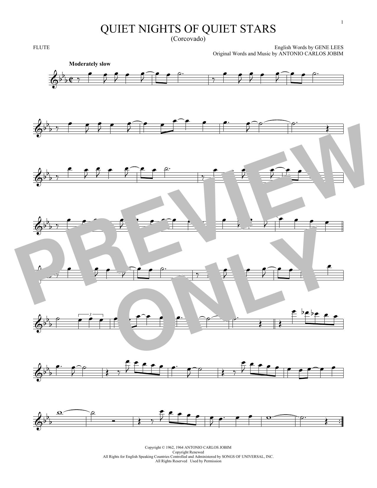 Quiet Nights Of Quiet Stars (Corcovado) (Flute Solo)