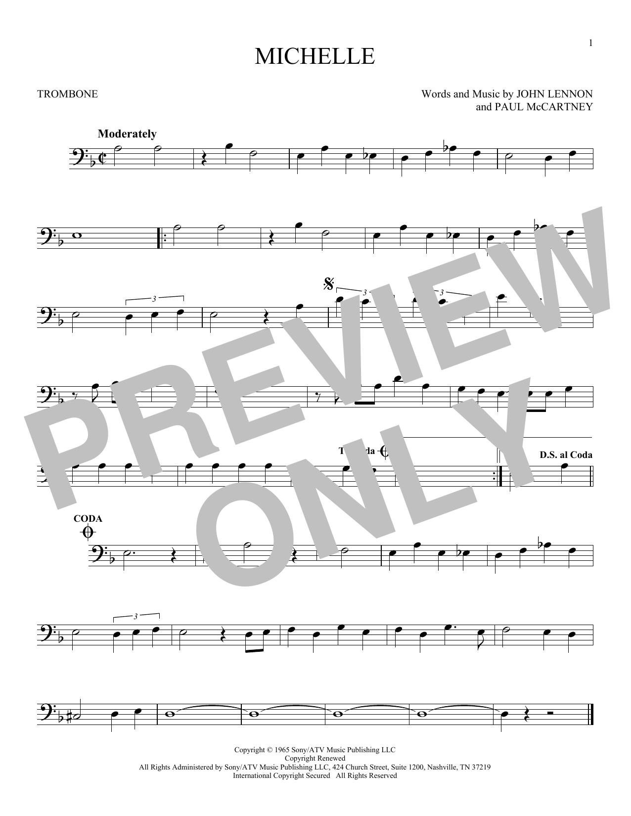 Michelle (Trombone Solo)
