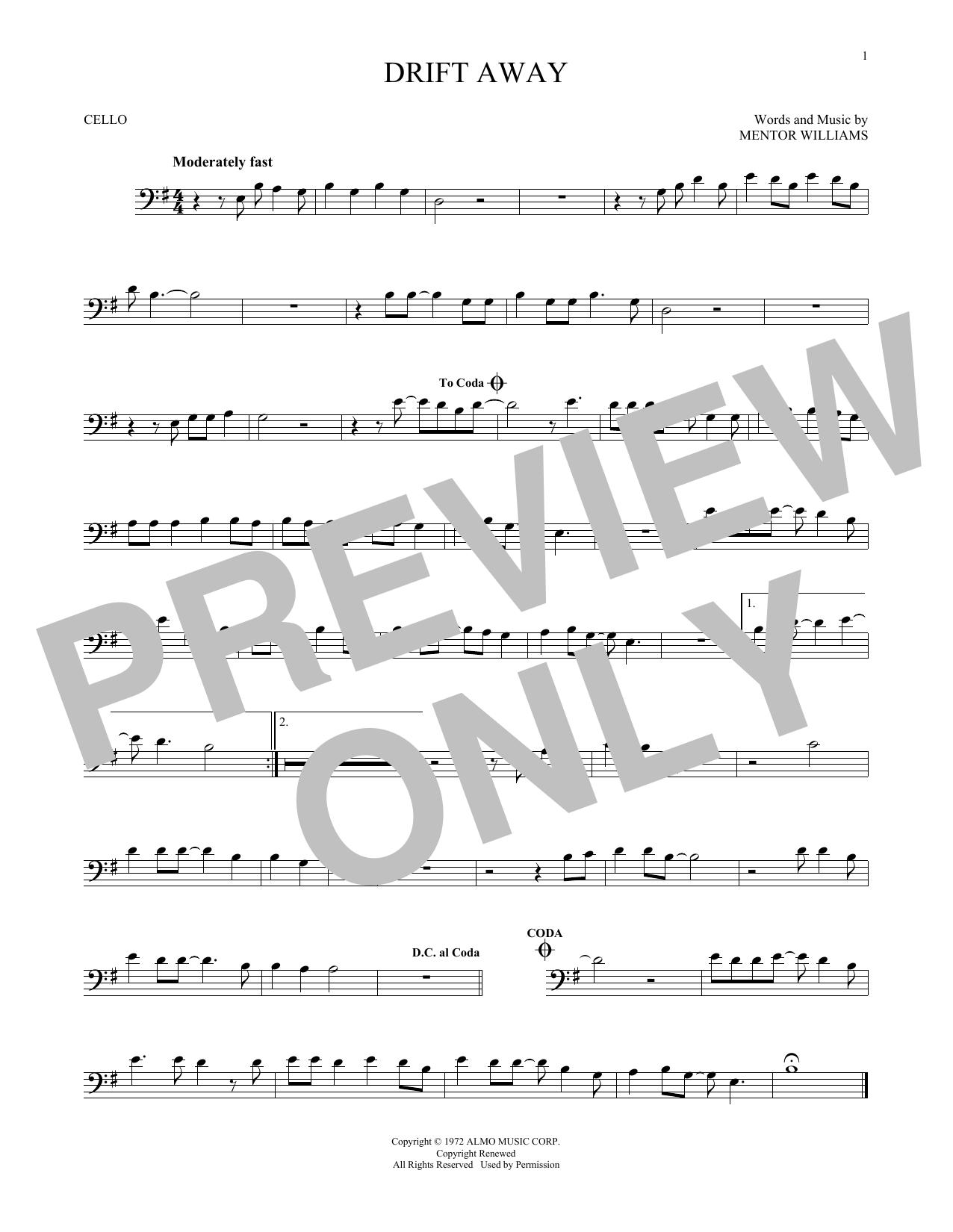 Drift Away (Cello Solo)
