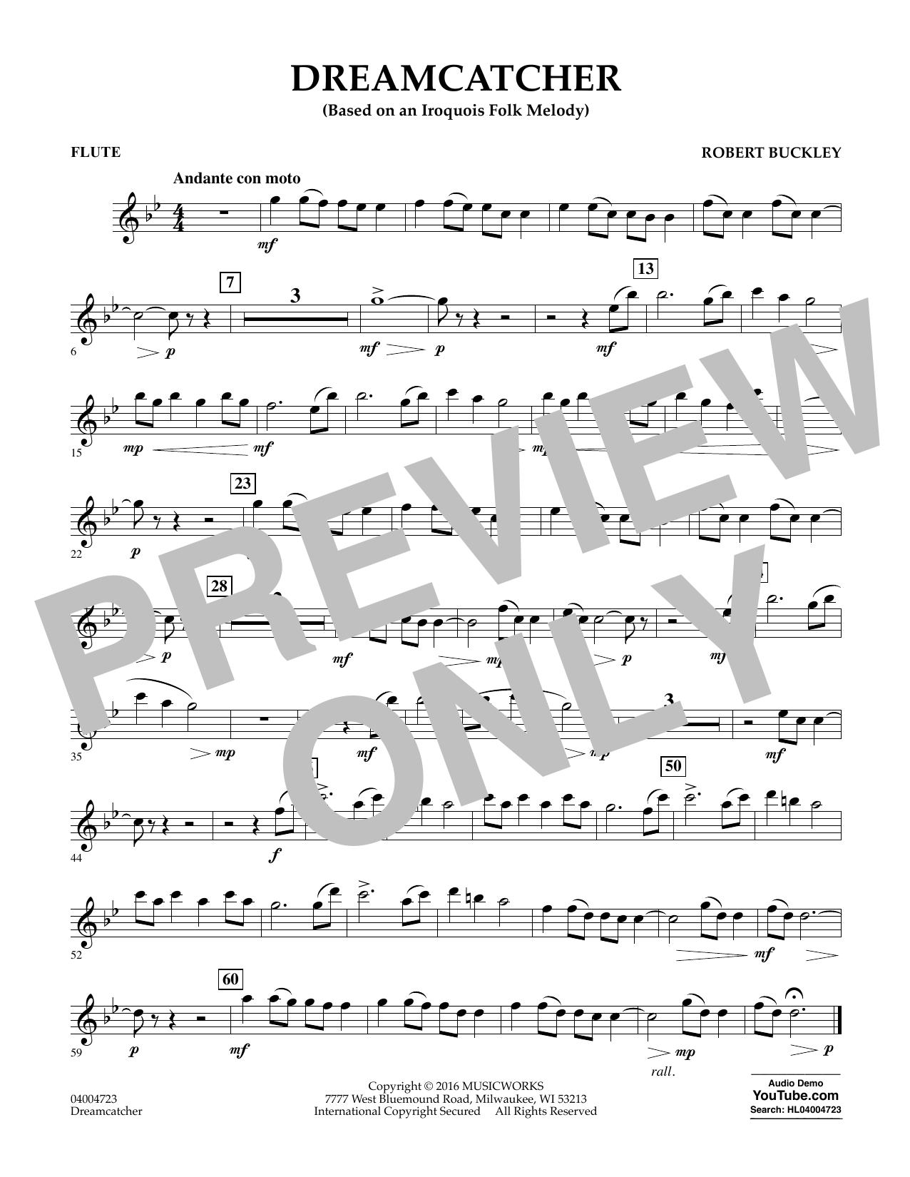 Dreamcatcher - Flute (Concert Band)