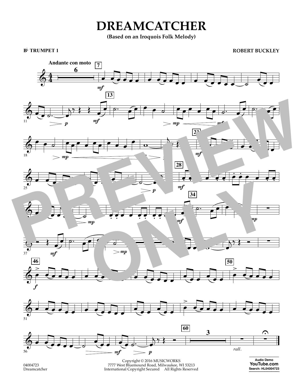 Dreamcatcher - Bb Trumpet 1 (Concert Band)
