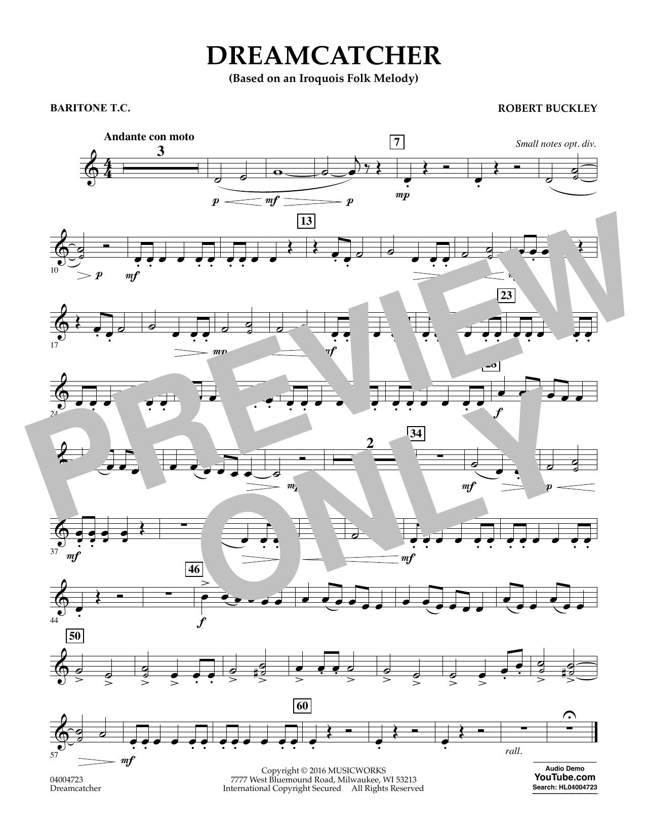 Dreamcatcher - Baritone T.C. (Concert Band)