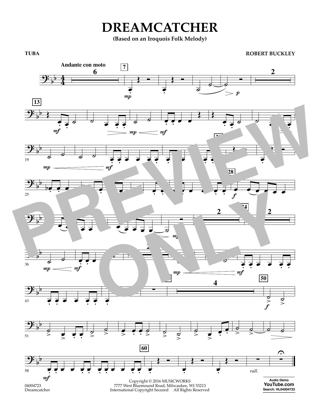 Dreamcatcher - Tuba (Concert Band)