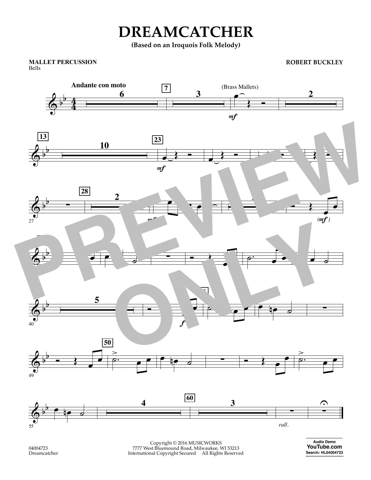 Dreamcatcher - Mallet Percussion (Concert Band)