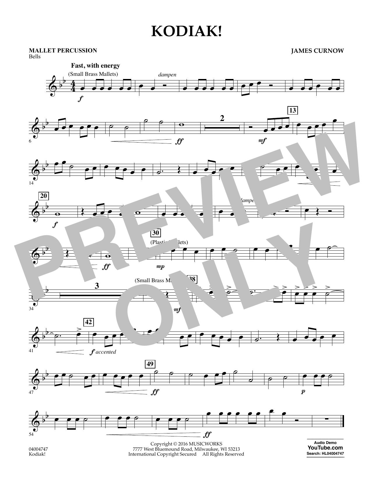 Kodiak! - Mallet Percussion (Concert Band)