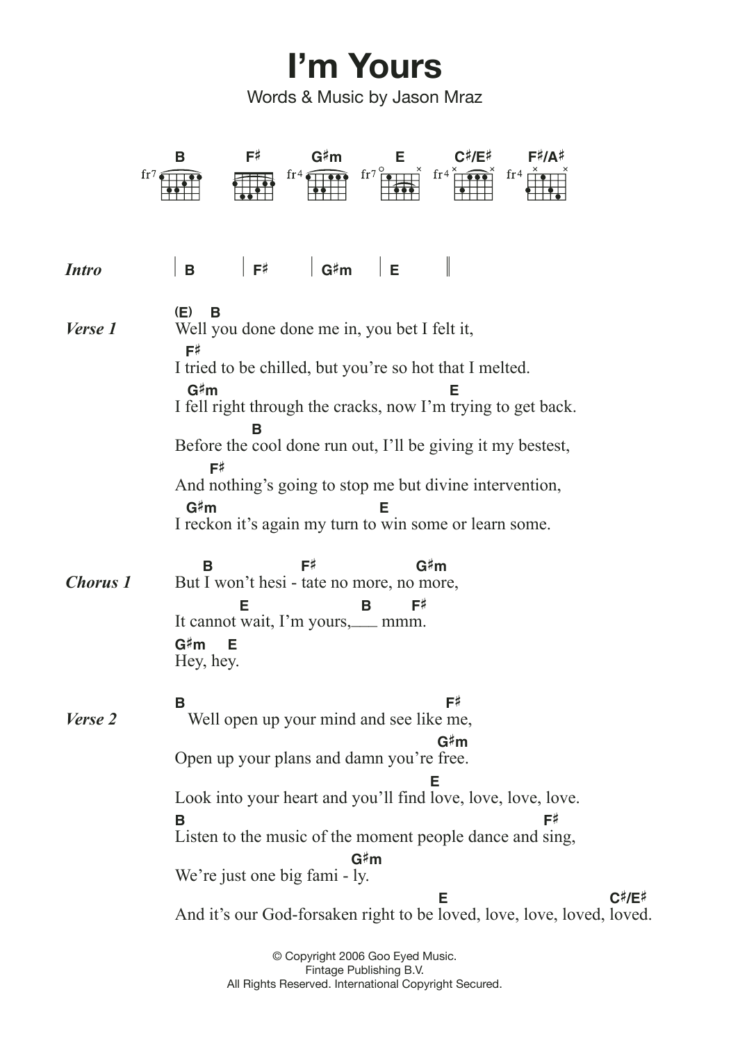 I Am Yours Guitar Chords Choice Image Basic Guitar Chords Finger