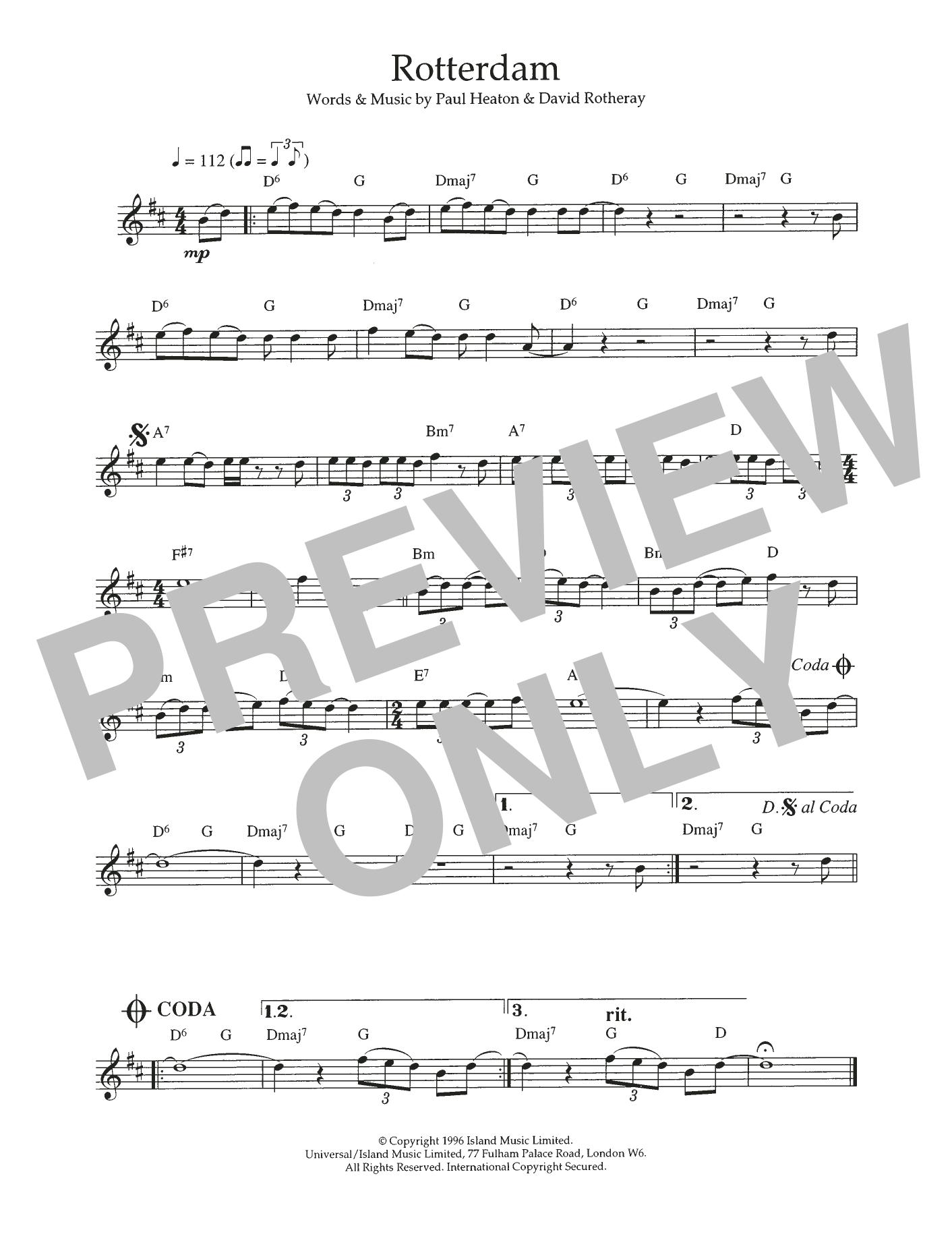 Rotterdam Sheet Music
