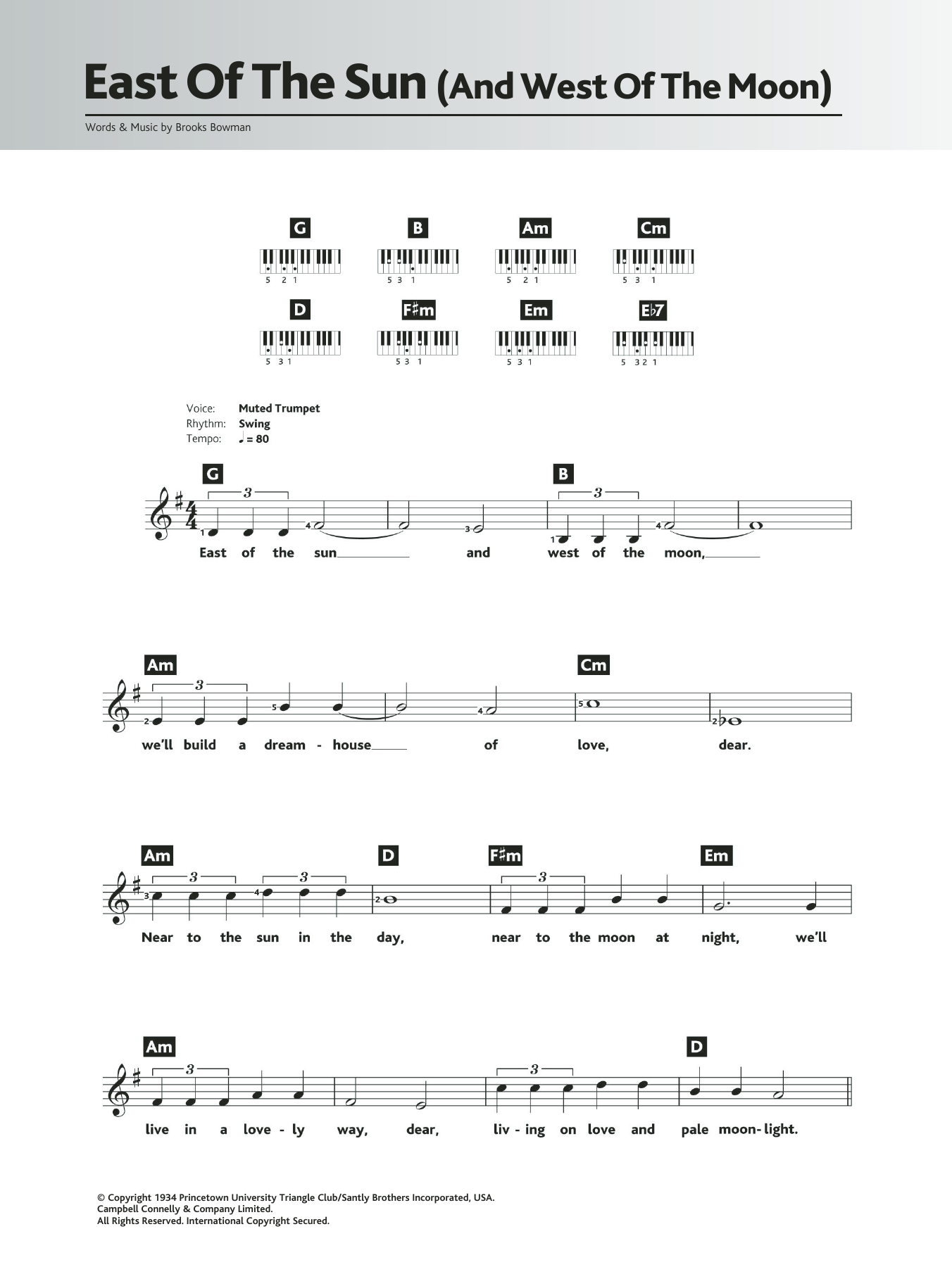 Fly me to the moon lead sheet pdf