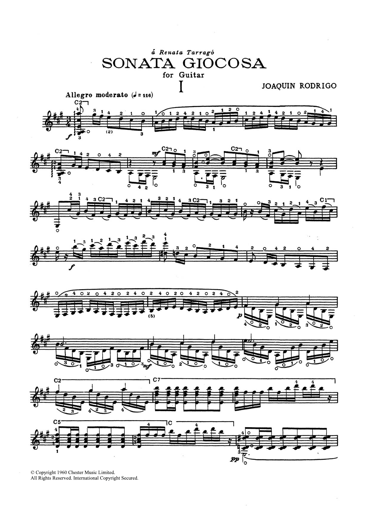 Sonata Giocosa Sheet Music