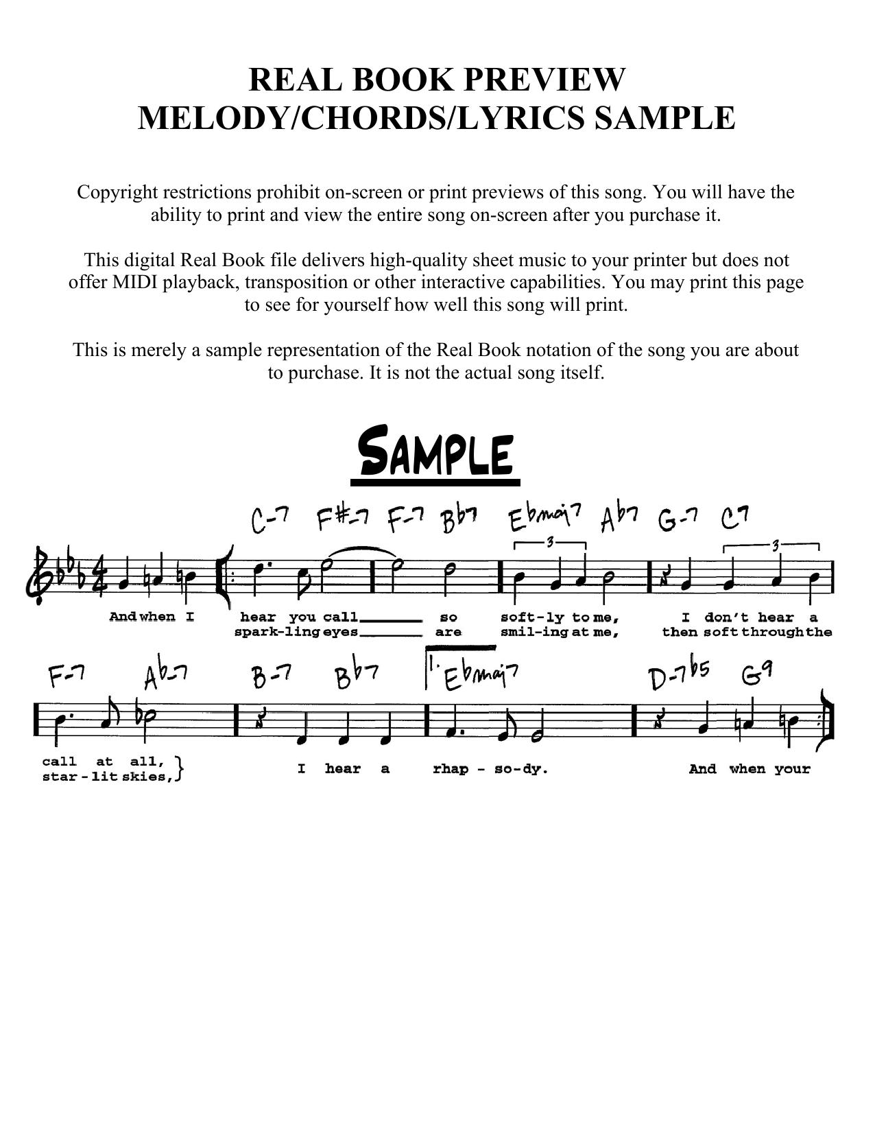 Partition autre Happy New Year de Carmen Lundy - Real Book, Melodie, Paroles et Accords, Inst. En Do