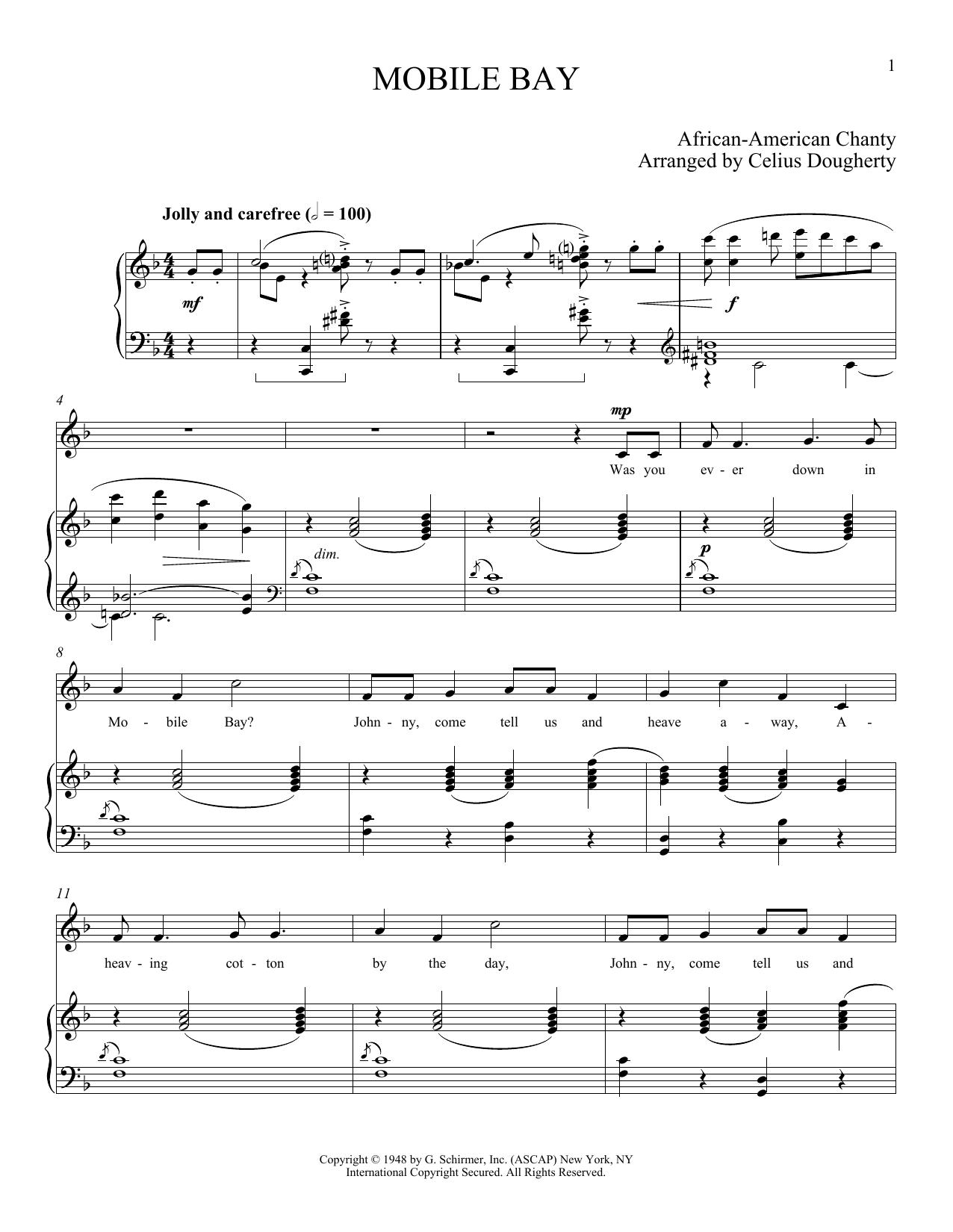 Mobile Bay (Piano & Vocal)
