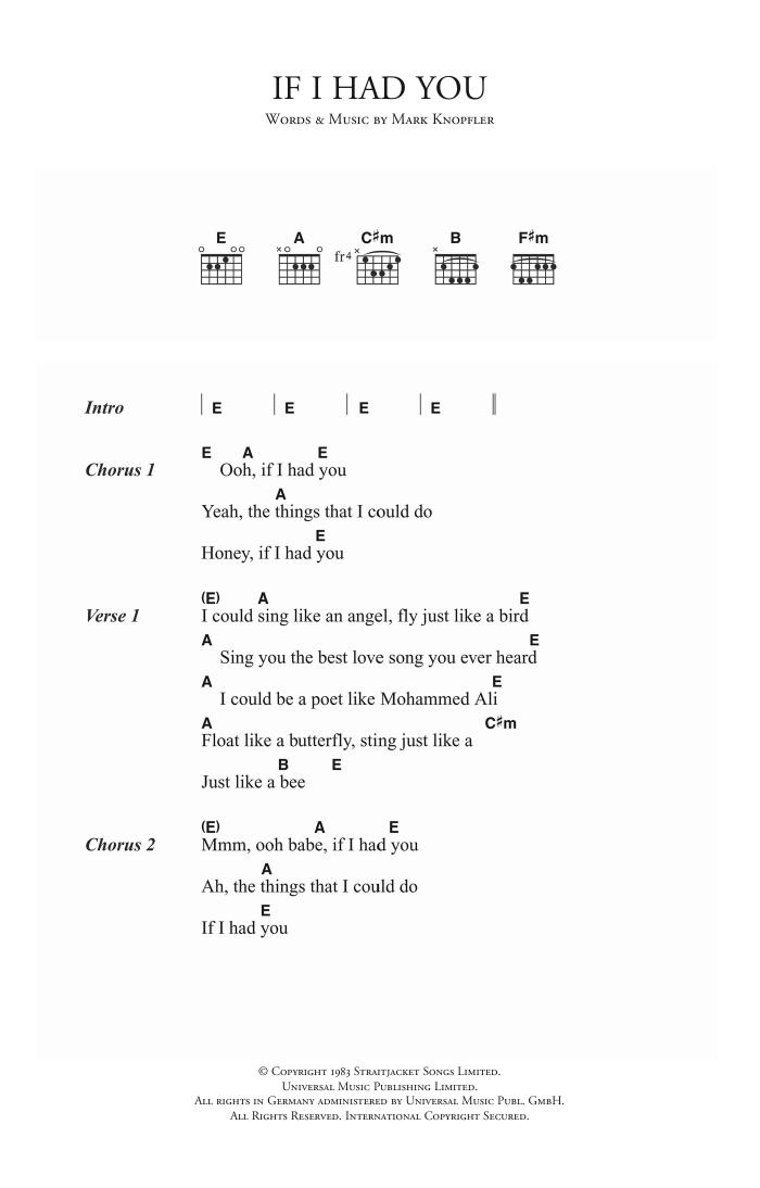 If I Had You | Sheet Music Direct
