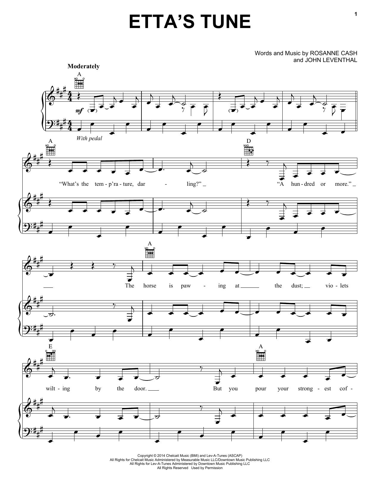 Etta's Tune Sheet Music