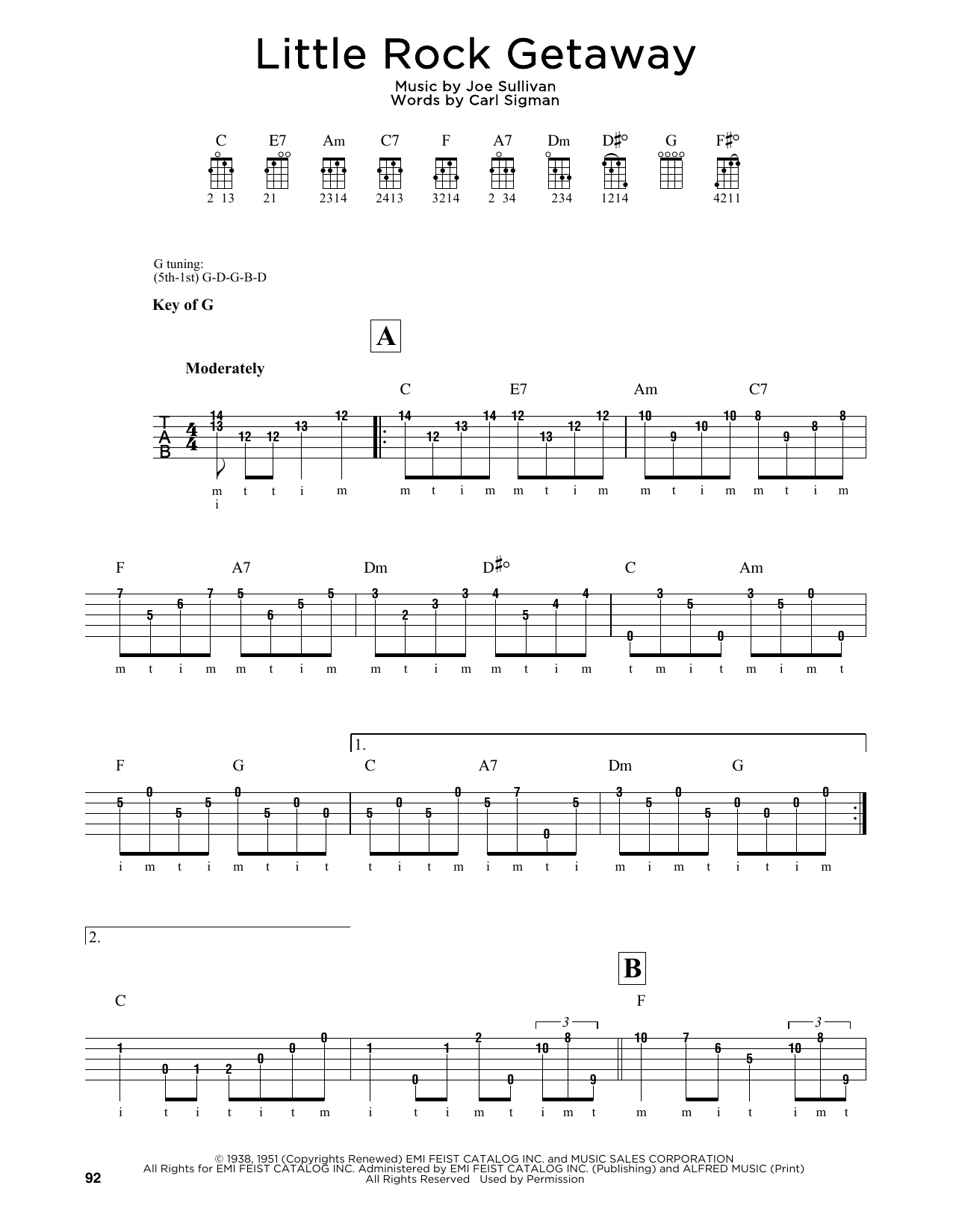 Little Rock Getaway Sheet Music