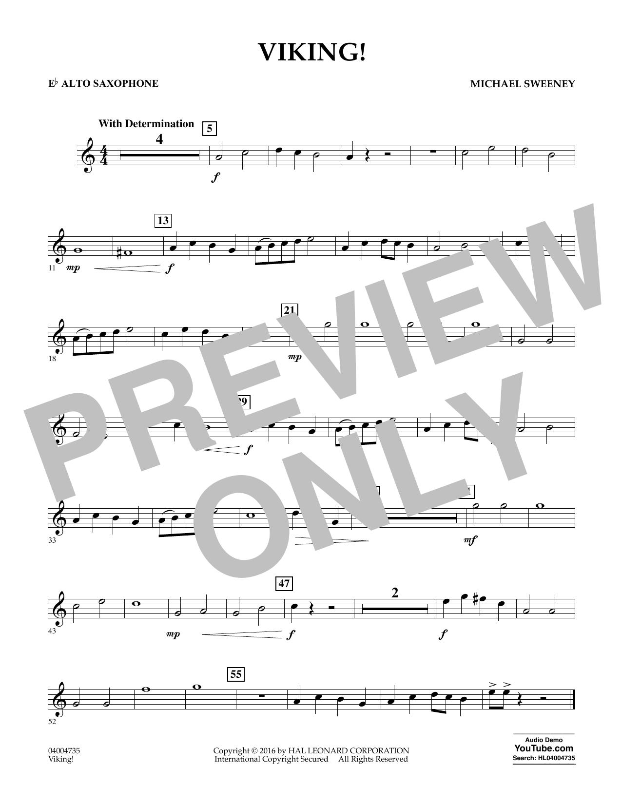 Viking! - Eb Alto Saxophone (Concert Band)