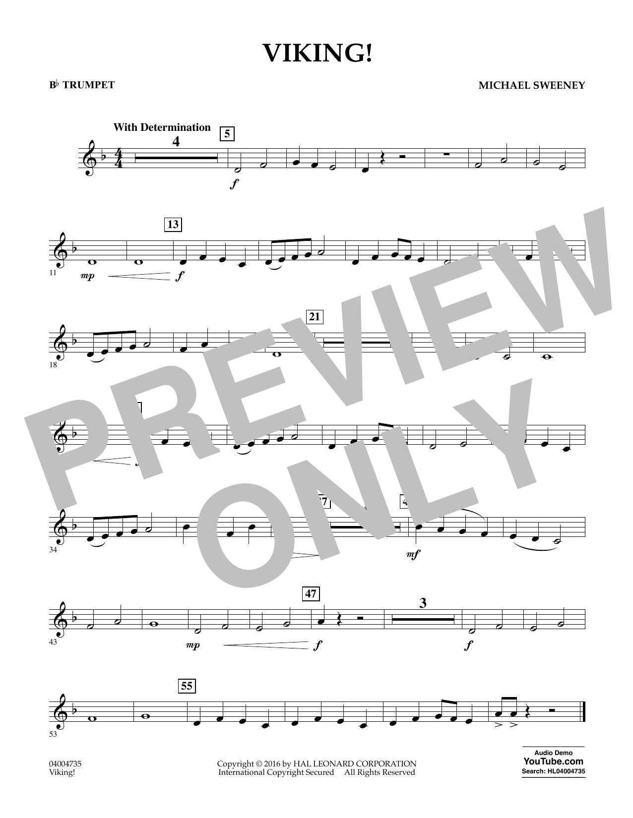 Viking! - Bb Trumpet (Concert Band)