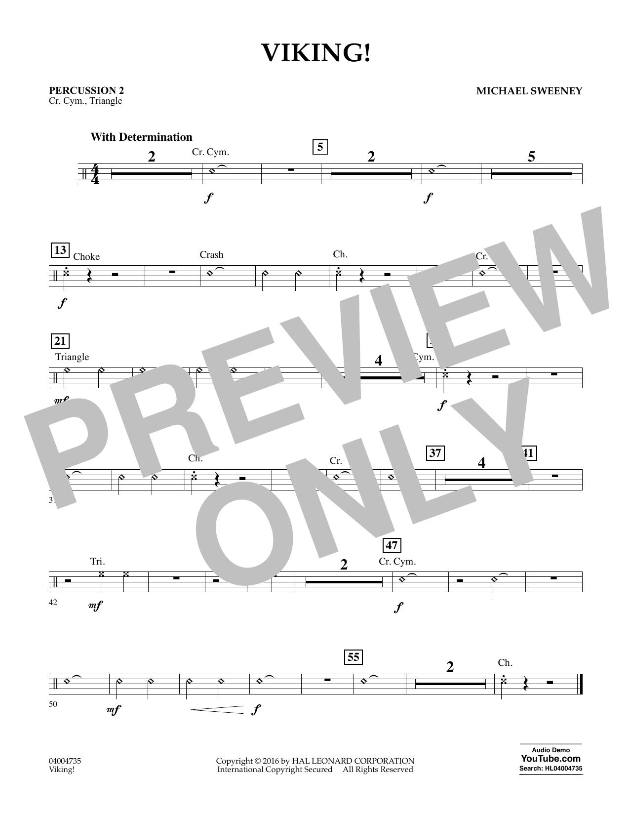 Viking! - Percussion 2 (Concert Band)