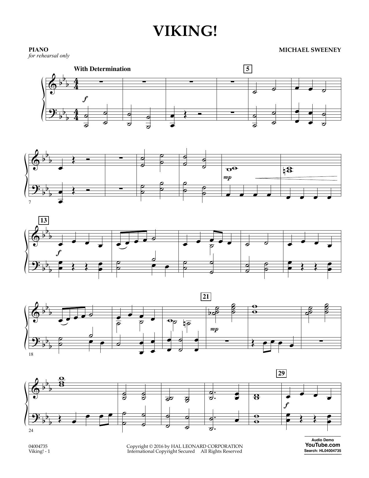 Viking! - Piano (Concert Band)