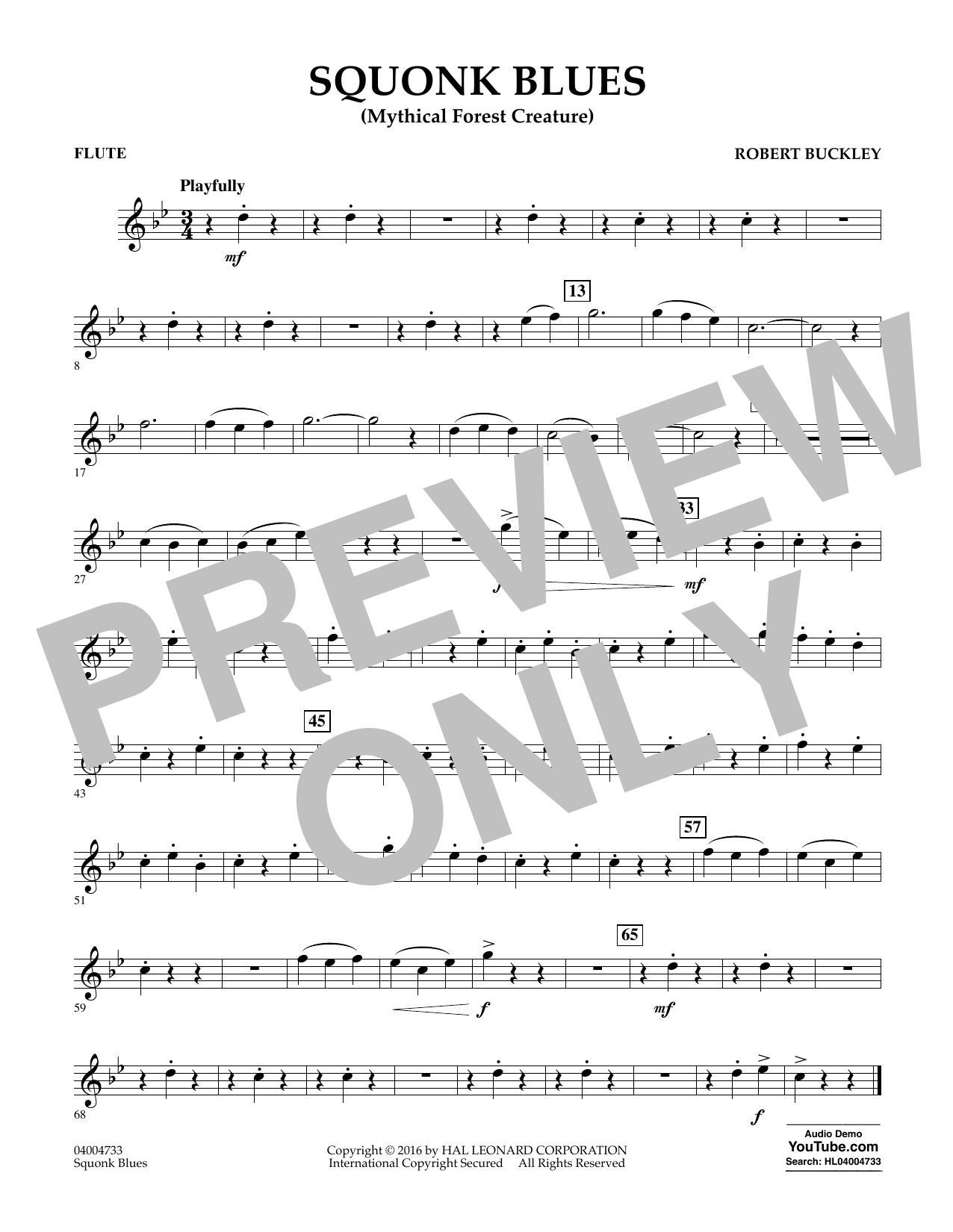Squonk Blues - Flute (Concert Band)