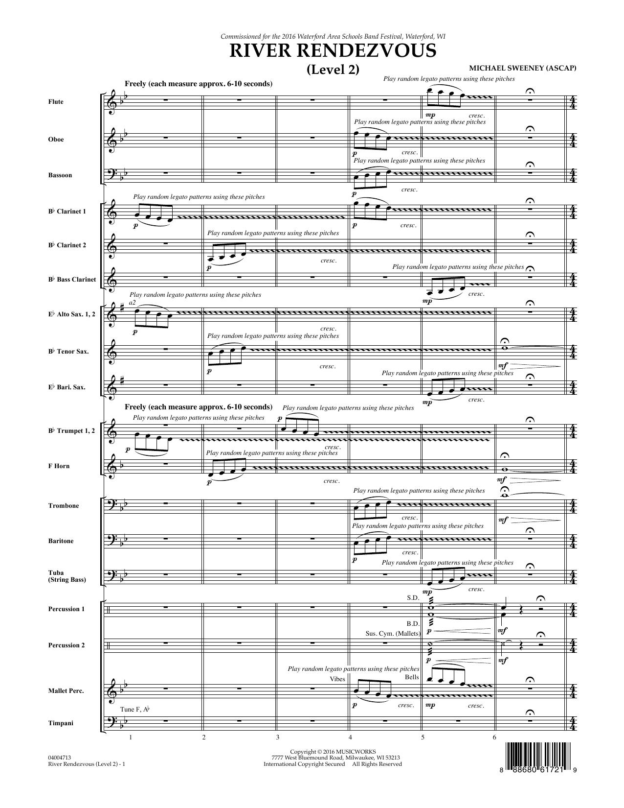 River Rendezvous - Full Score (Level 2) (Concert Band)