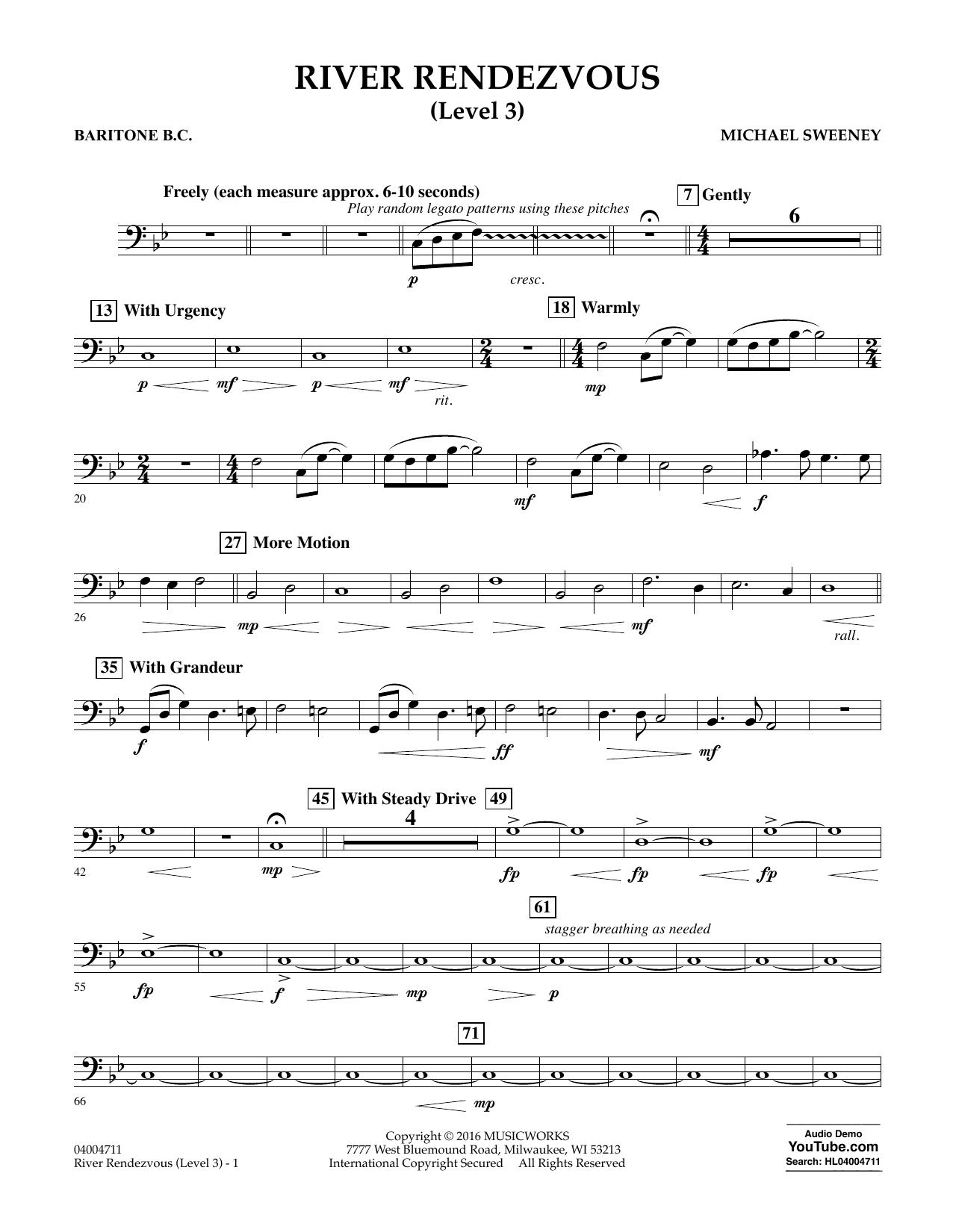 River Rendezvous - Baritone B.C. (Level 3) (Concert Band)
