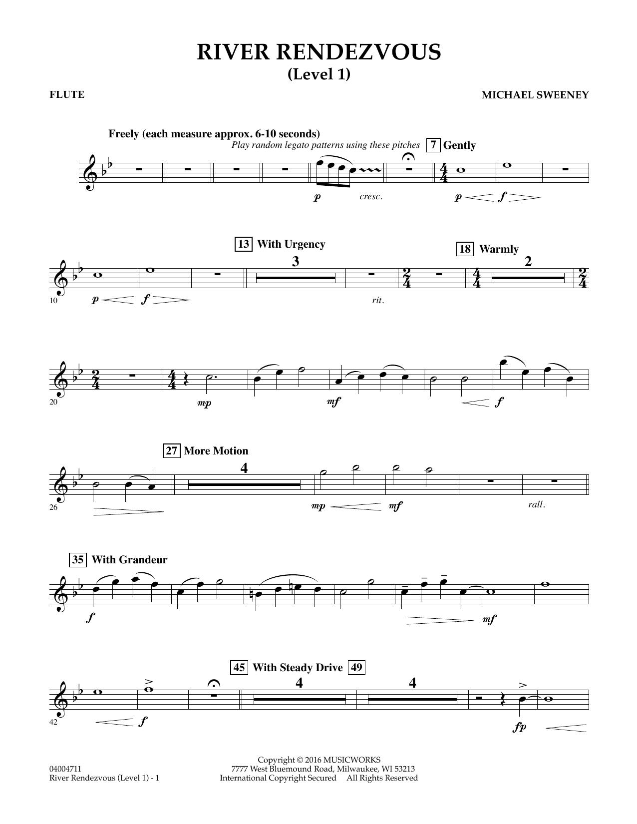 River Rendezvous - Flute (Level 1) (Concert Band)
