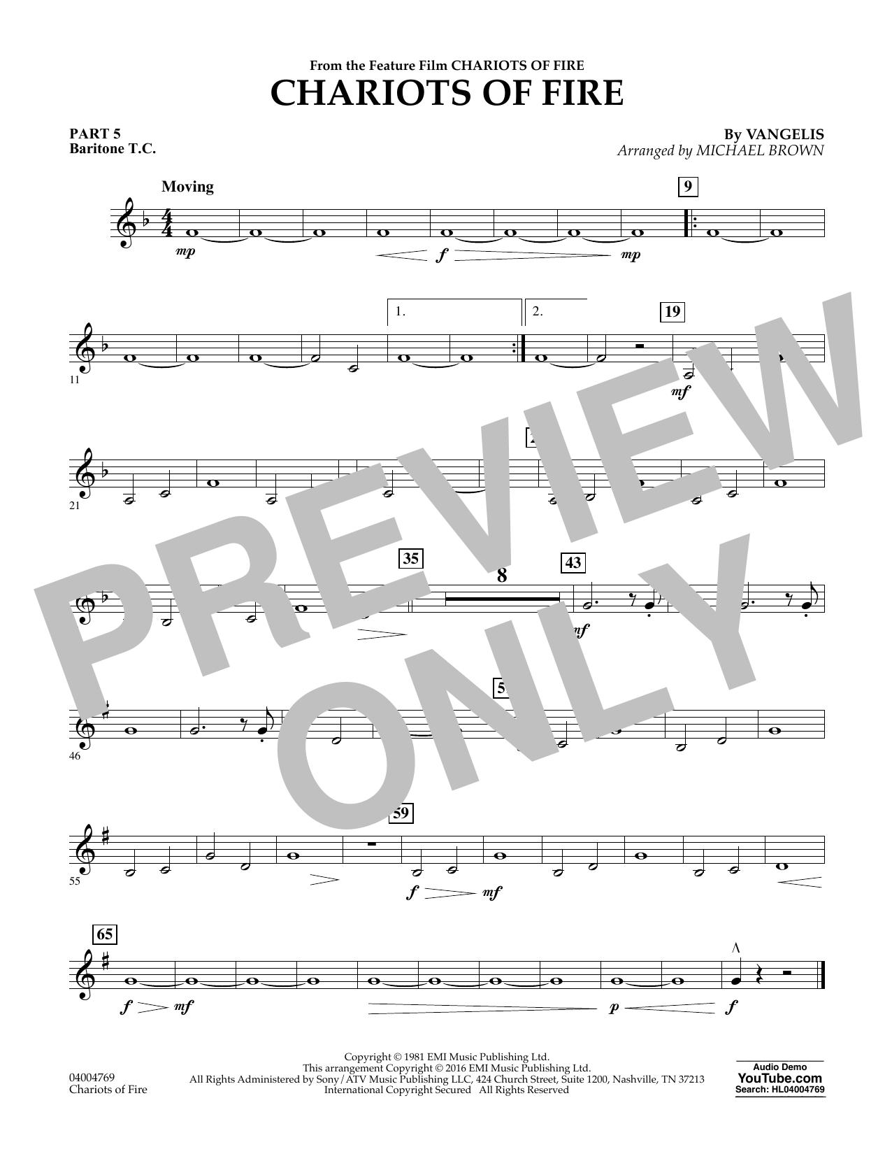 Chariots of Fire - Pt.5 - Baritone T.C. (Flex-Band)