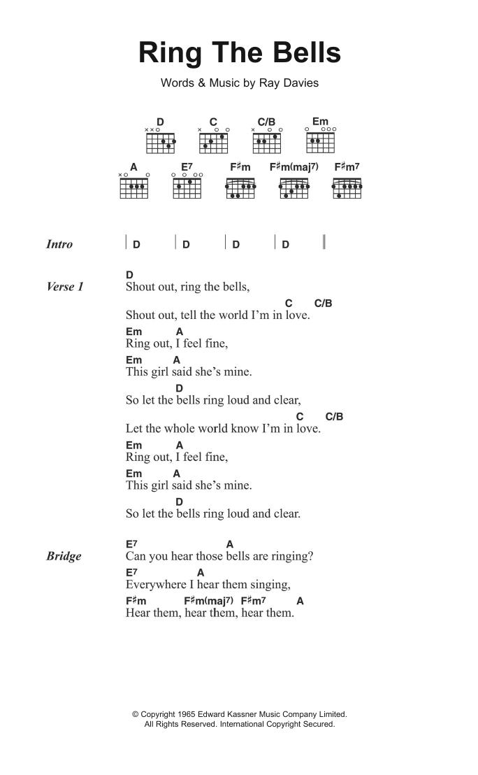 Ring The Bells Sheet Music