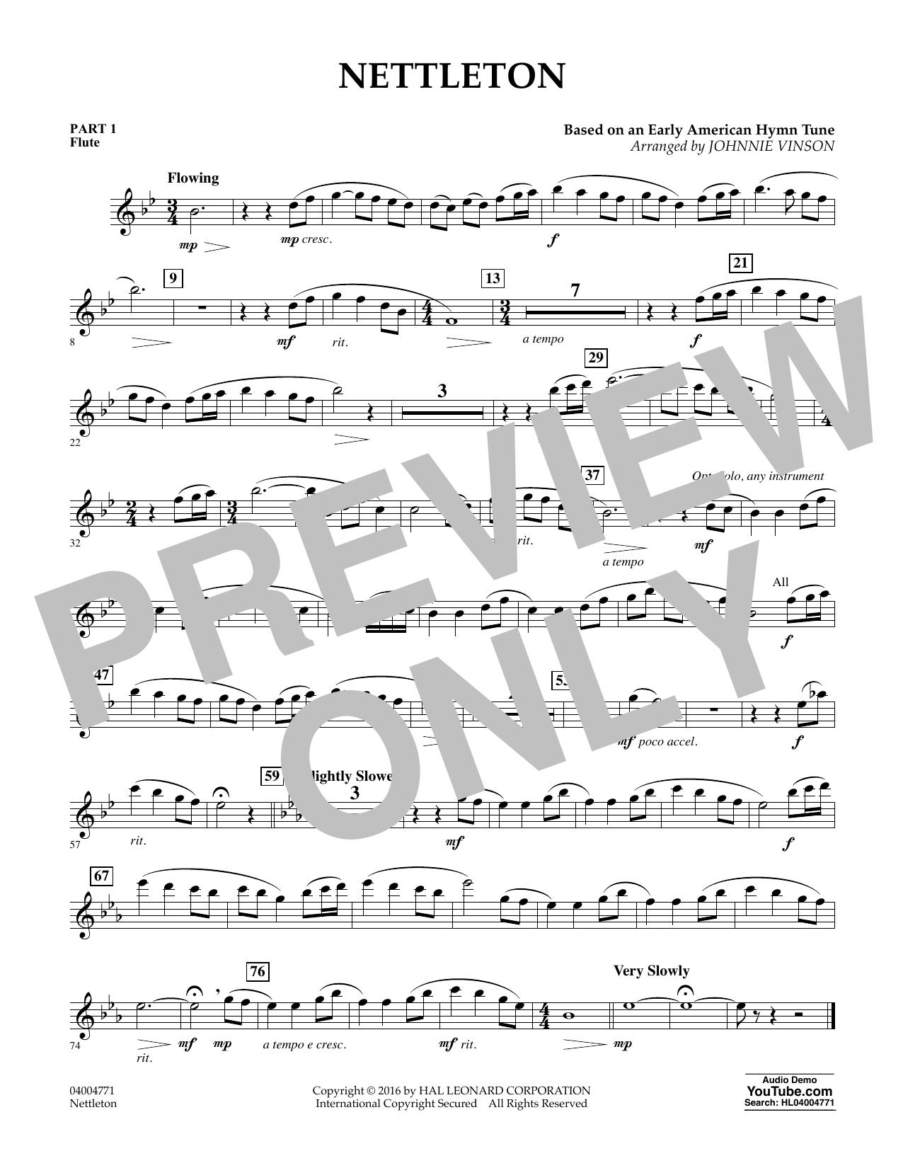 Nettleton - Pt.1 - Flute (Flex-Band)