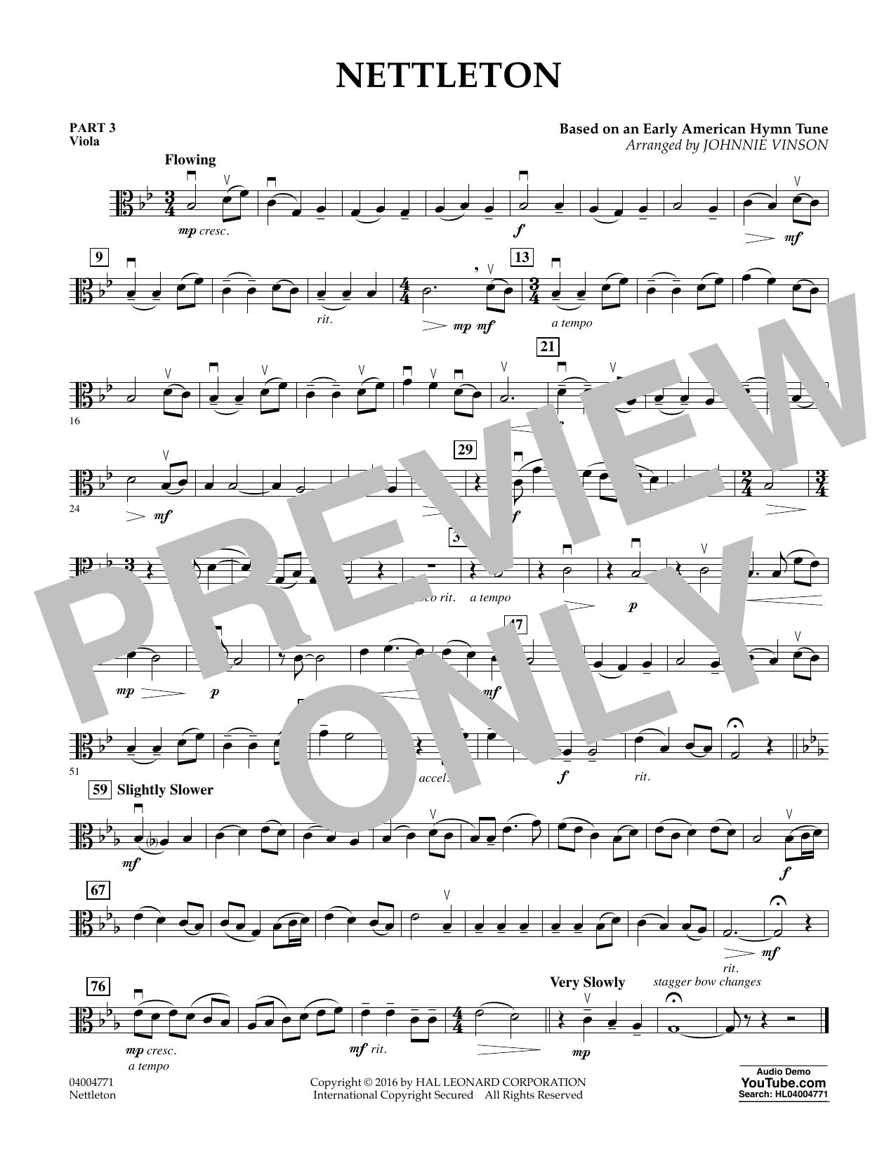 Nettleton - Pt.3 - Viola (Flex-Band)