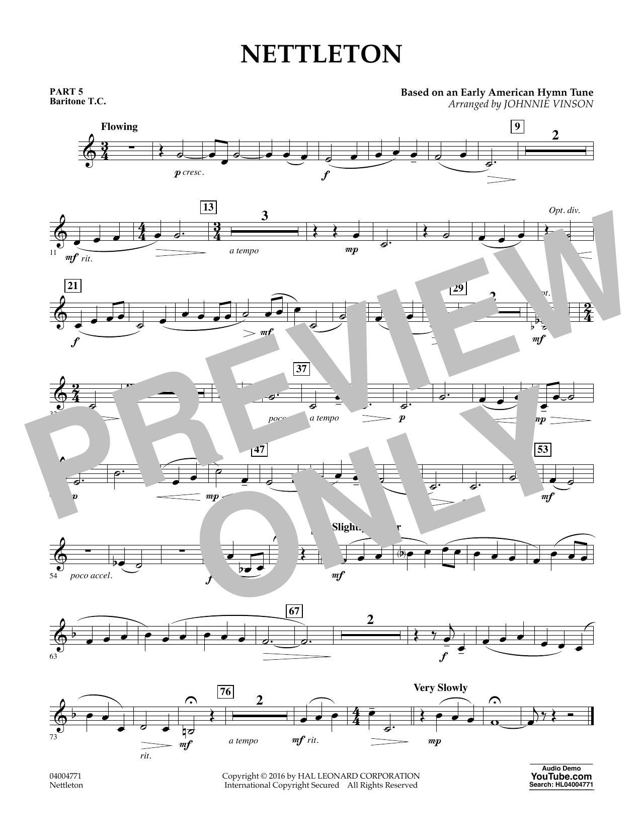 Nettleton - Pt.5 - Baritone T.C. (Flex-Band)