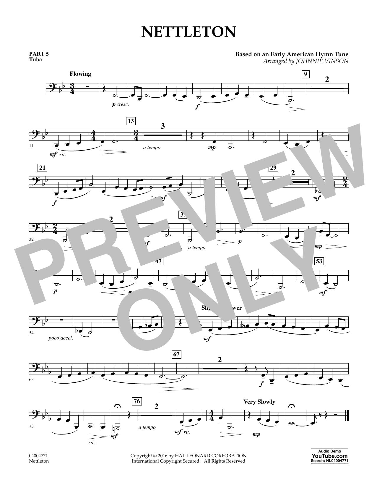 Nettleton - Pt.5 - Tuba (Flex-Band)